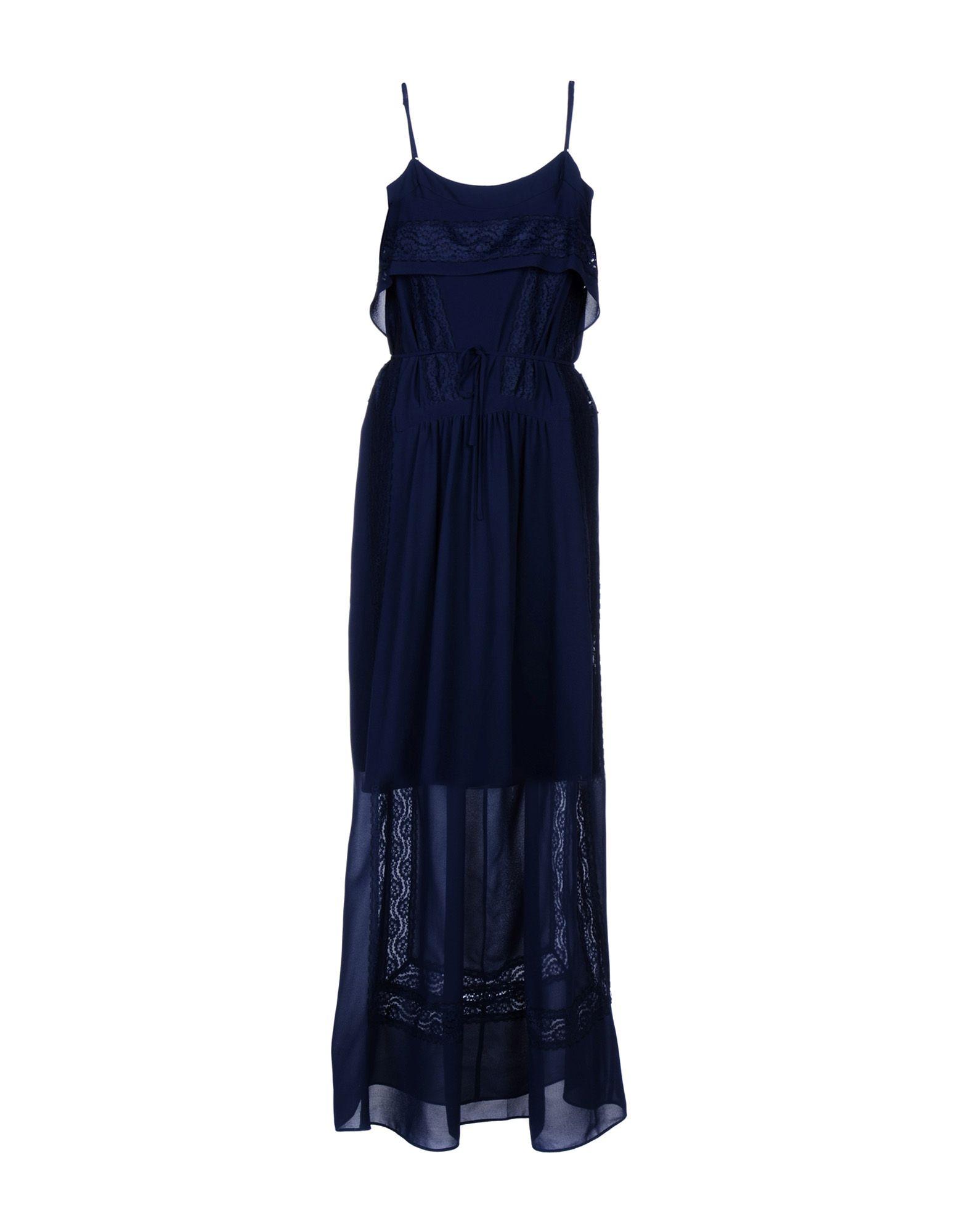 LES PETITES... Длинное платье lpc le petites chaudières короткое платье