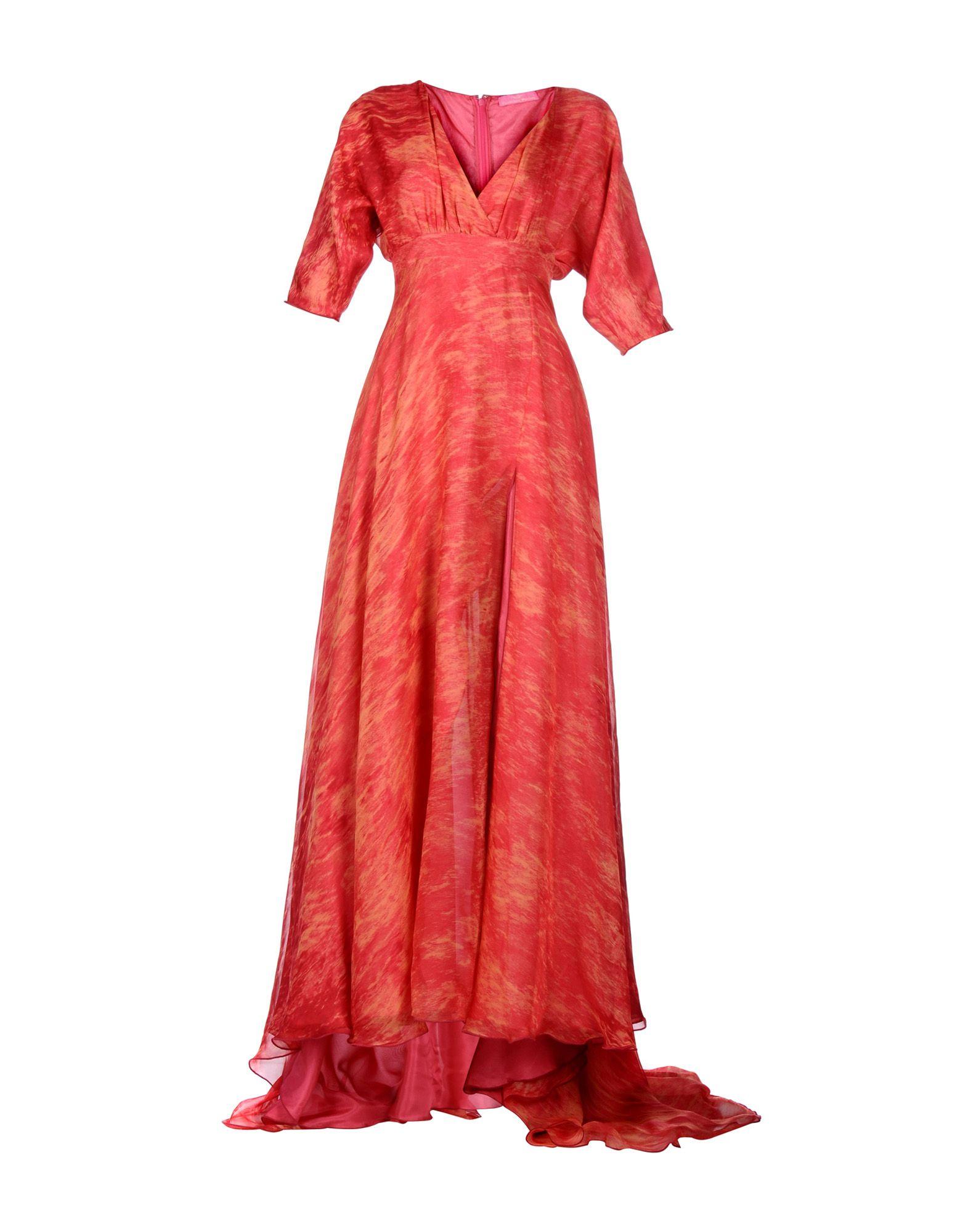 FRANCESCA PICCINI Длинное платье платье короткое спереди длинное сзади летнее