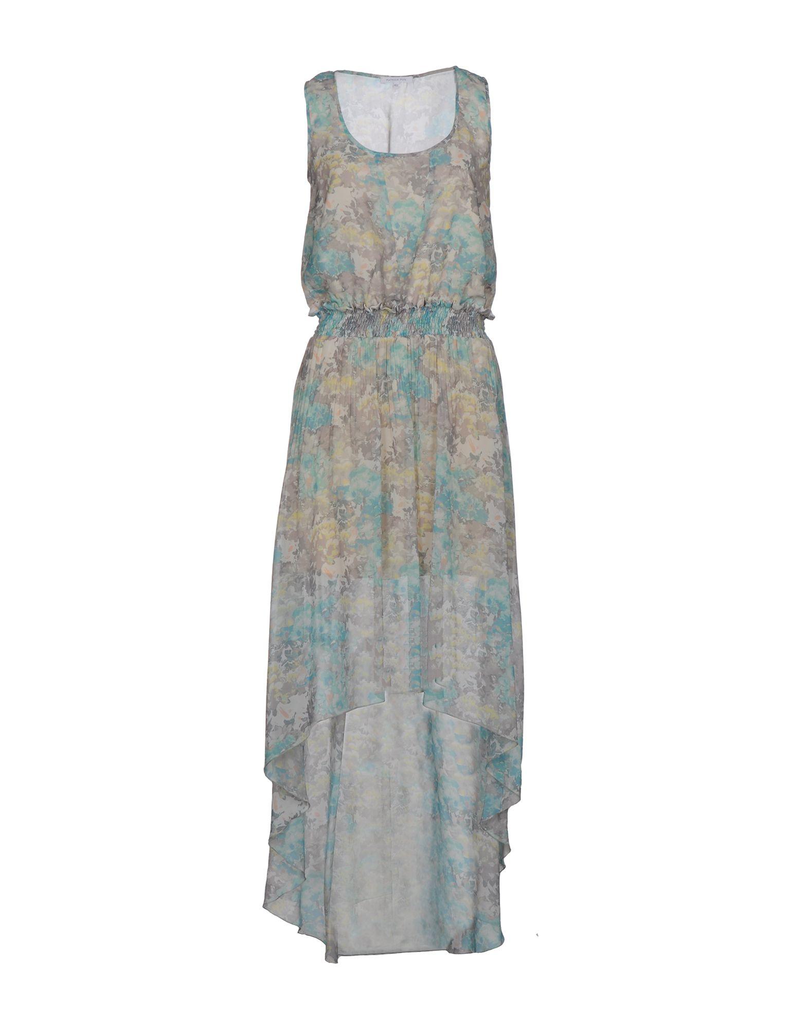 PATRIZIA PEPE Платье длиной 3/4 lisa corti платье длиной 3 4