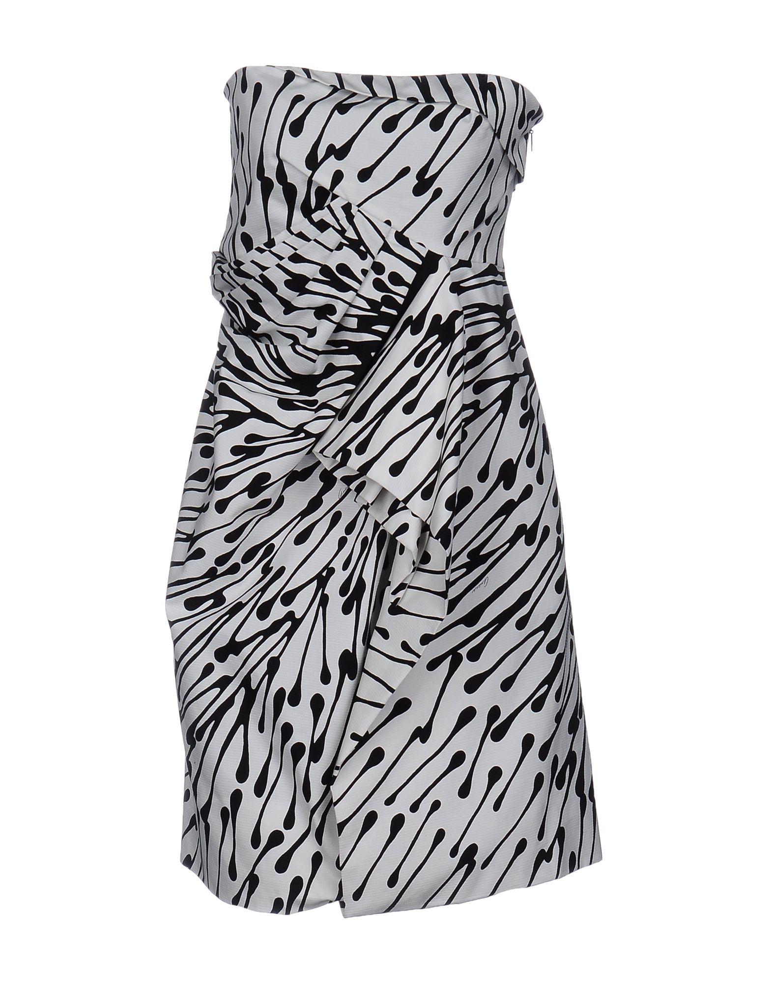 GUCCI Damen Kurzes Kleid Farbe Weiß Größe 4