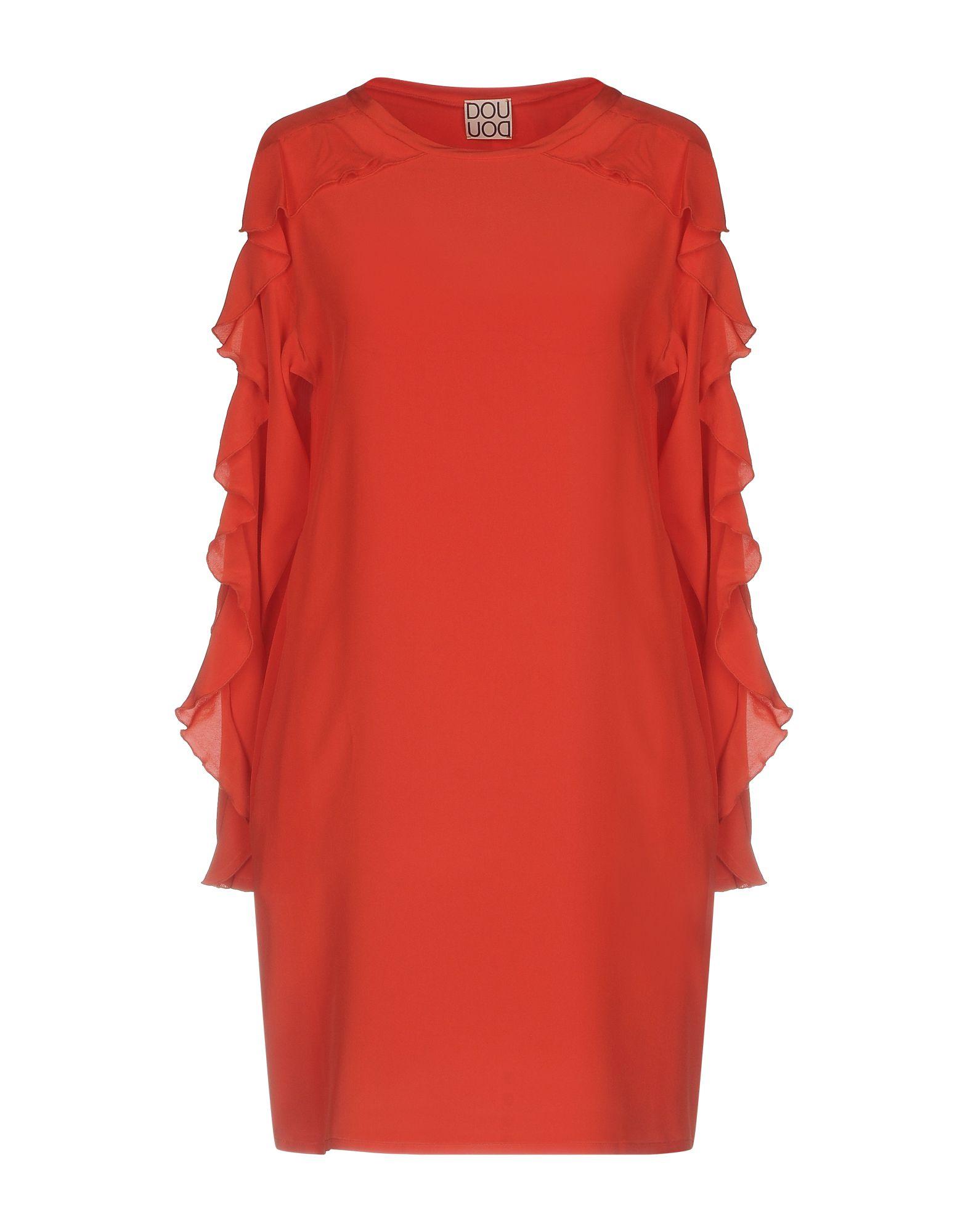 DOUUOD Short Dress in Red