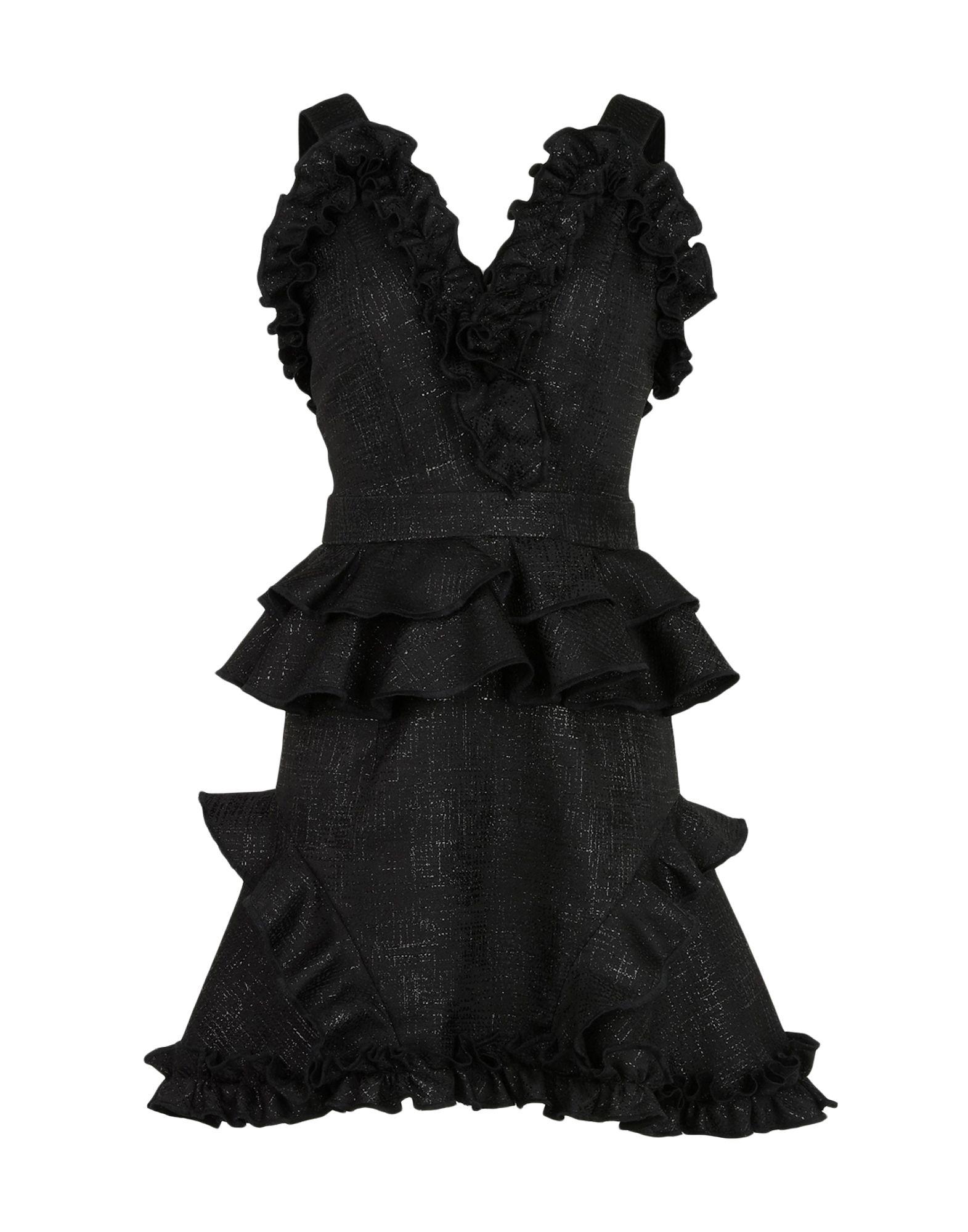 NATARGEORGIOU Short Dresses in Black