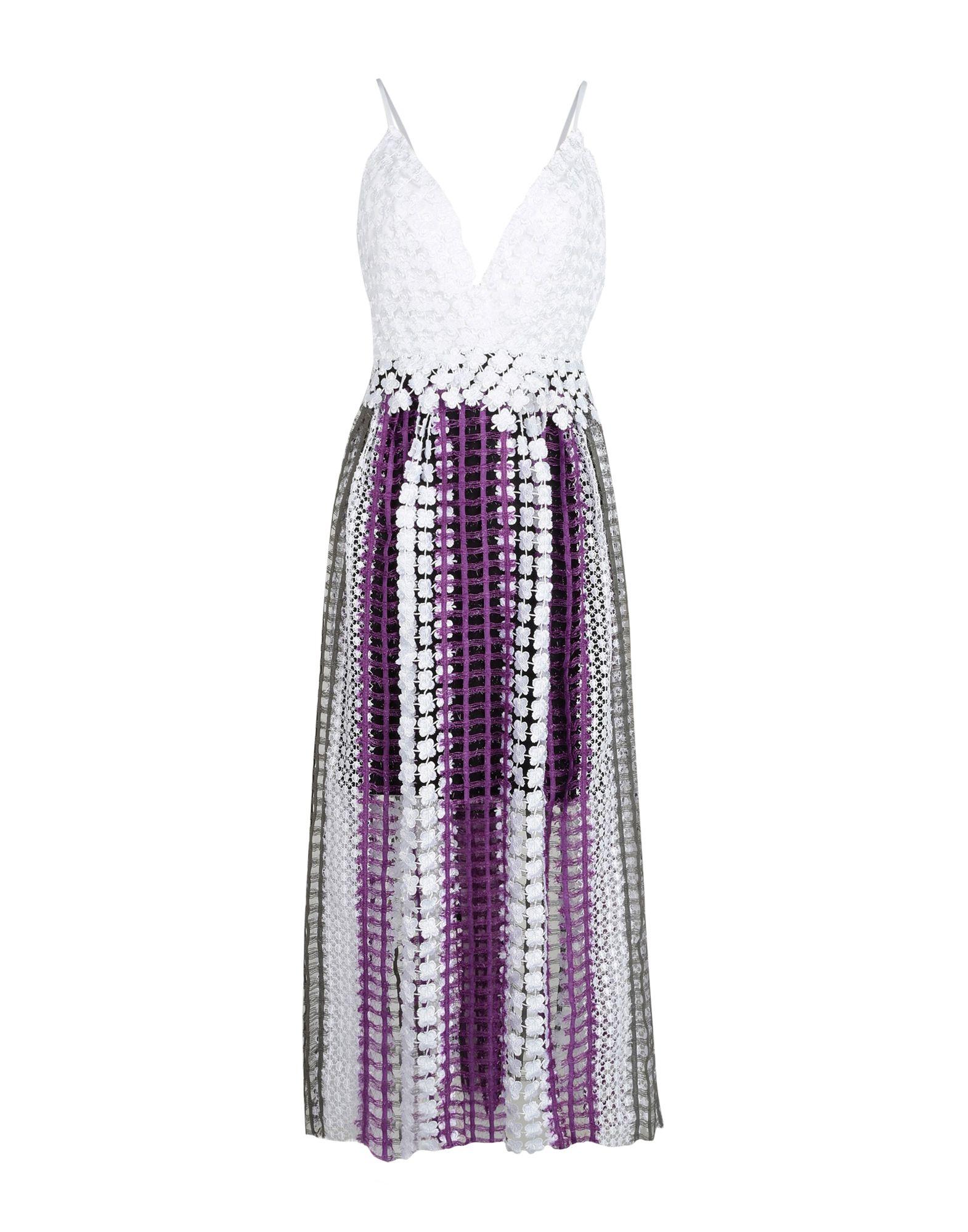 NATARGEORGIOU Long Dresses in Purple