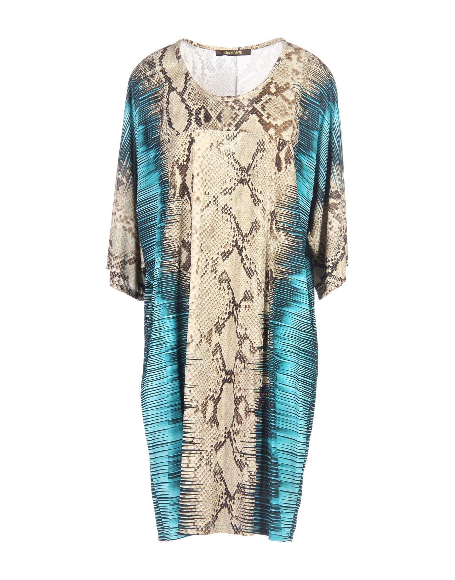 купить ROBERTO CAVALLI Короткое платье по цене 24800 рублей