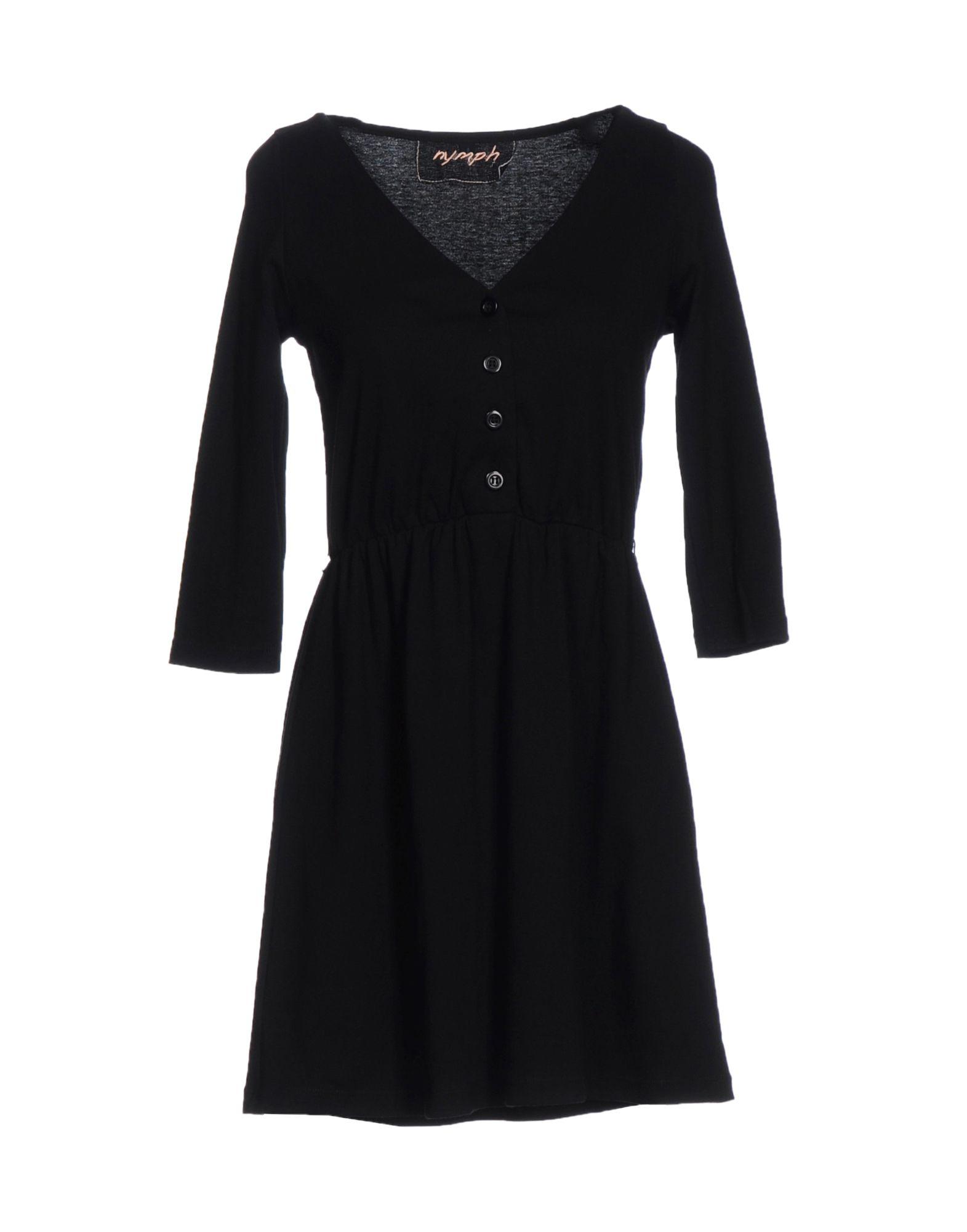 где купить NYMPH Короткое платье по лучшей цене