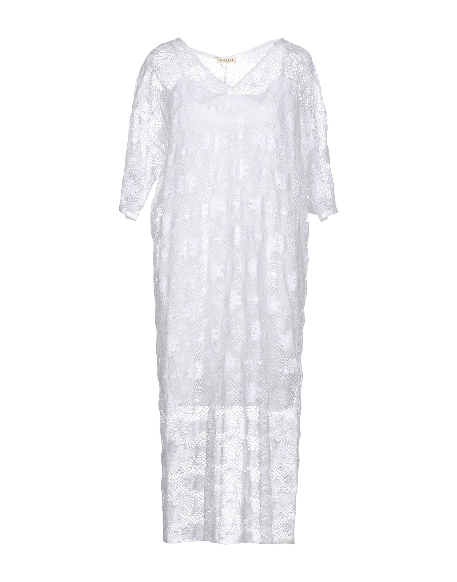 MASSCOB Платье длиной 3/4 lisa corti платье длиной 3 4