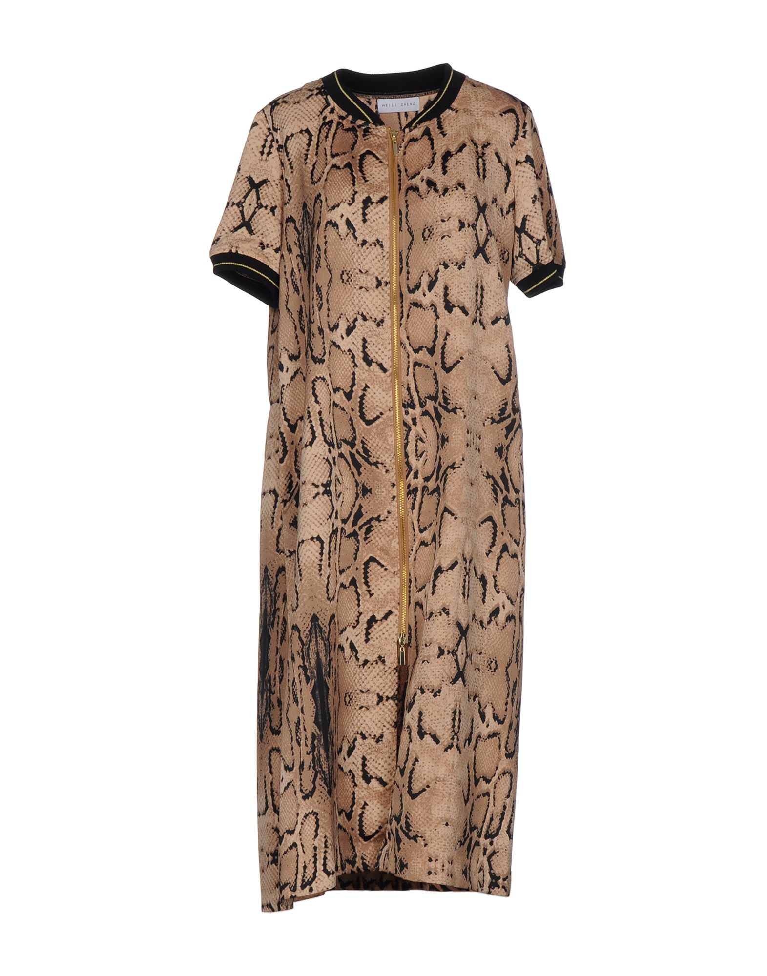 WEILI ZHENG Платье длиной 3/4 lisa corti платье длиной 3 4