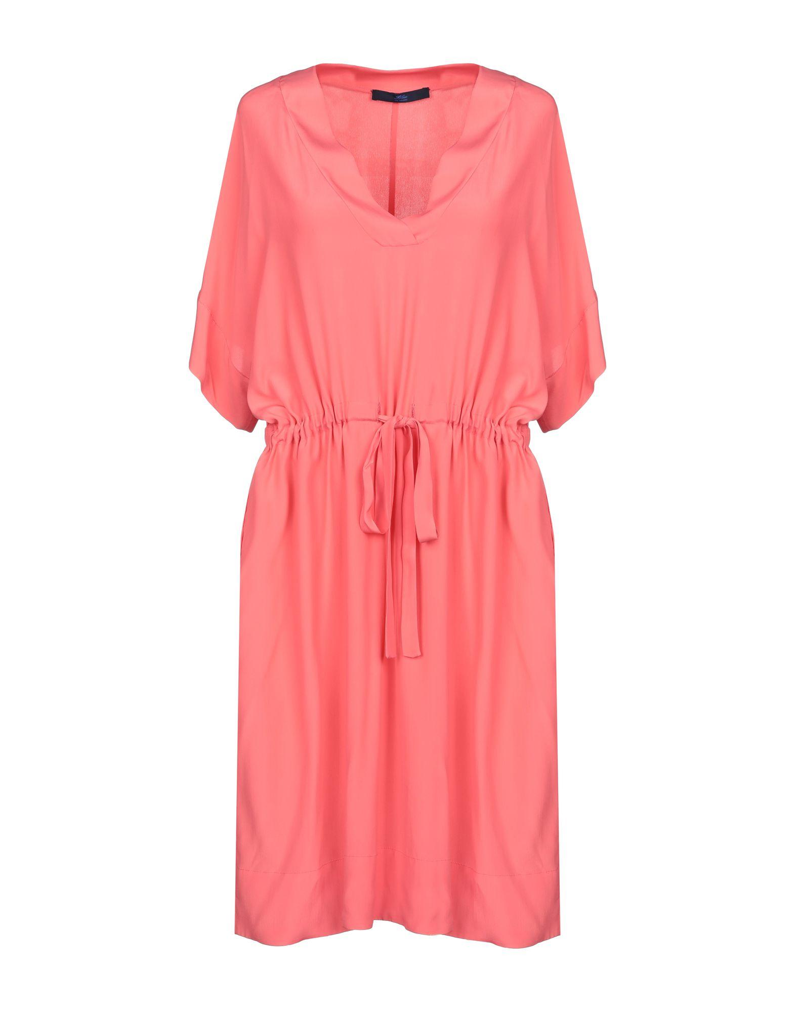 BLUE LES COPAINS Короткое платье цены онлайн