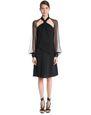 LANVIN Dress Woman CHIFFON AND CREPE DE CHINE DRESS f