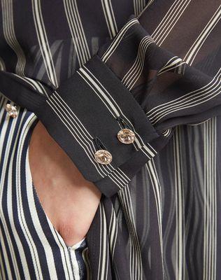 LANVIN SILK SHIRT DRESS Long dress D b