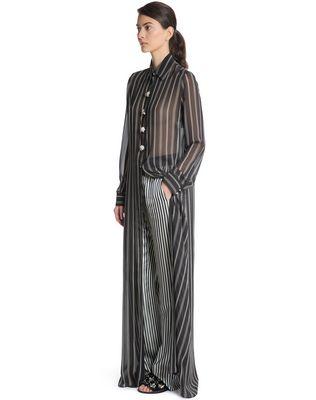LANVIN SILK SHIRT DRESS Long dress D d