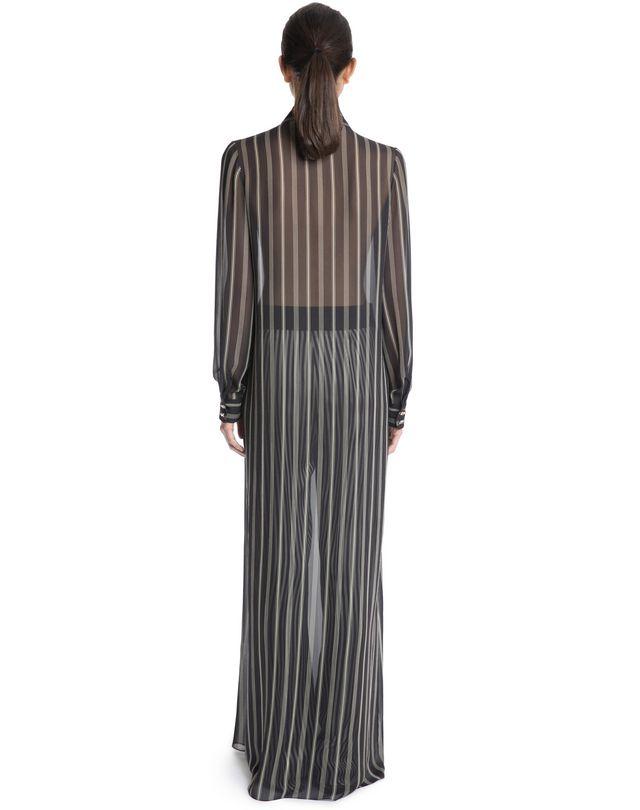 LANVIN SILK SHIRT DRESS Long dress D e