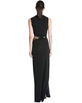LANVIN LONG CREPE JERSEY DRESS Long dress D e