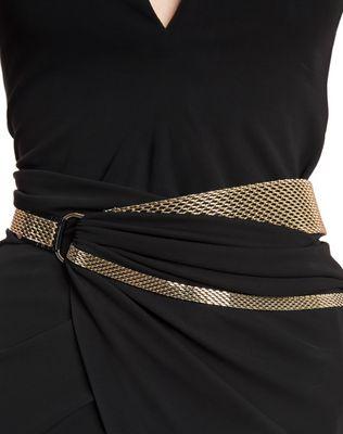LANVIN LONG CREPE JERSEY DRESS Long dress D r