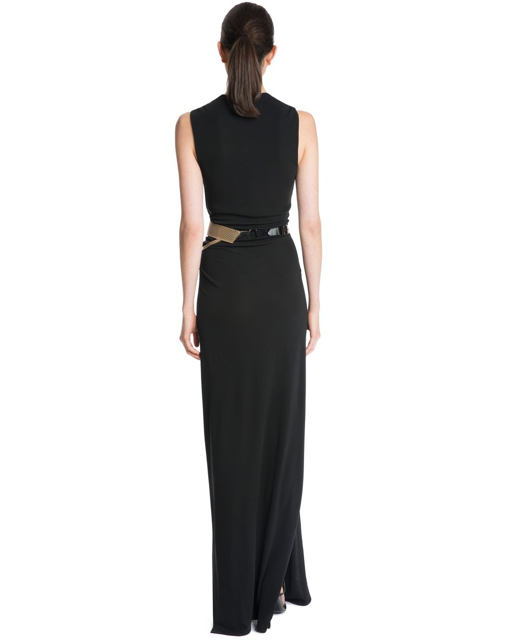 LONG CREPE JERSEY DRESS - Lanvin