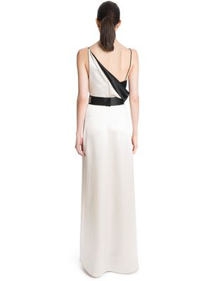 LANVIN LONG MIRRORED SATIN DRESS Long dress D e