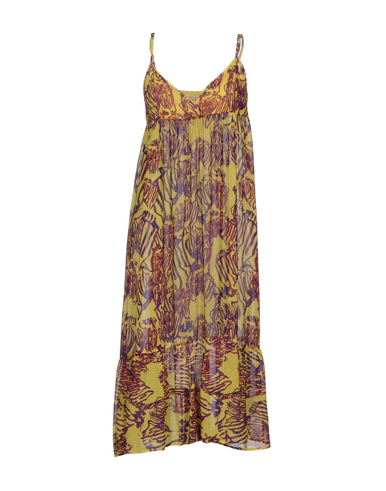 цены на REPLAY Платье длиной 3/4 в интернет-магазинах