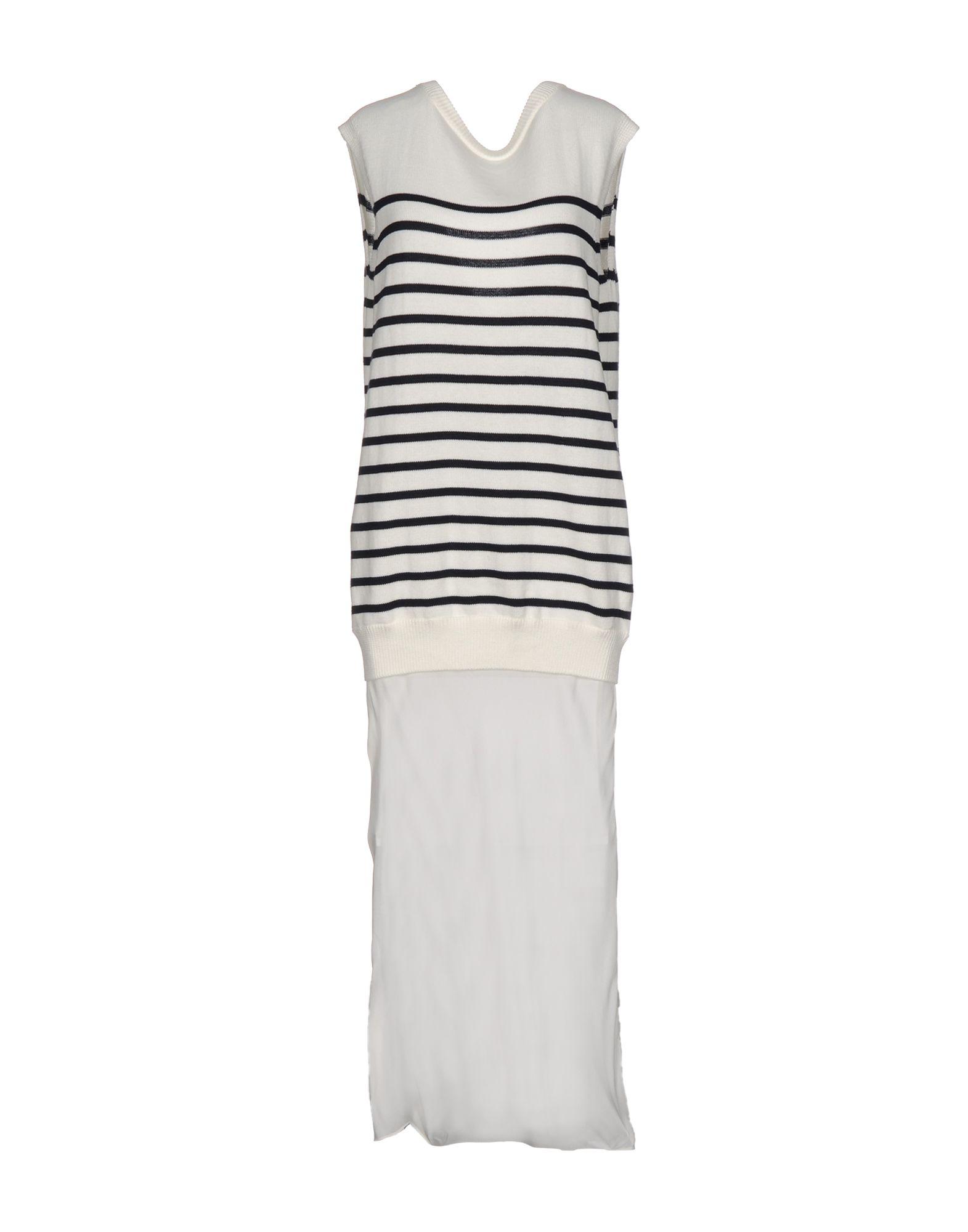 T by ALEXANDER WANG Длинное платье paola t длинное платье