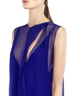 LANVIN LONG CHIFFON DRESS Dress D a