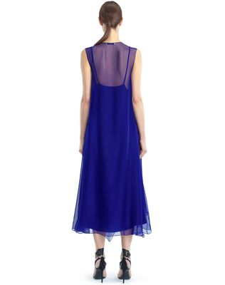 LANVIN LONG CHIFFON DRESS Dress D e