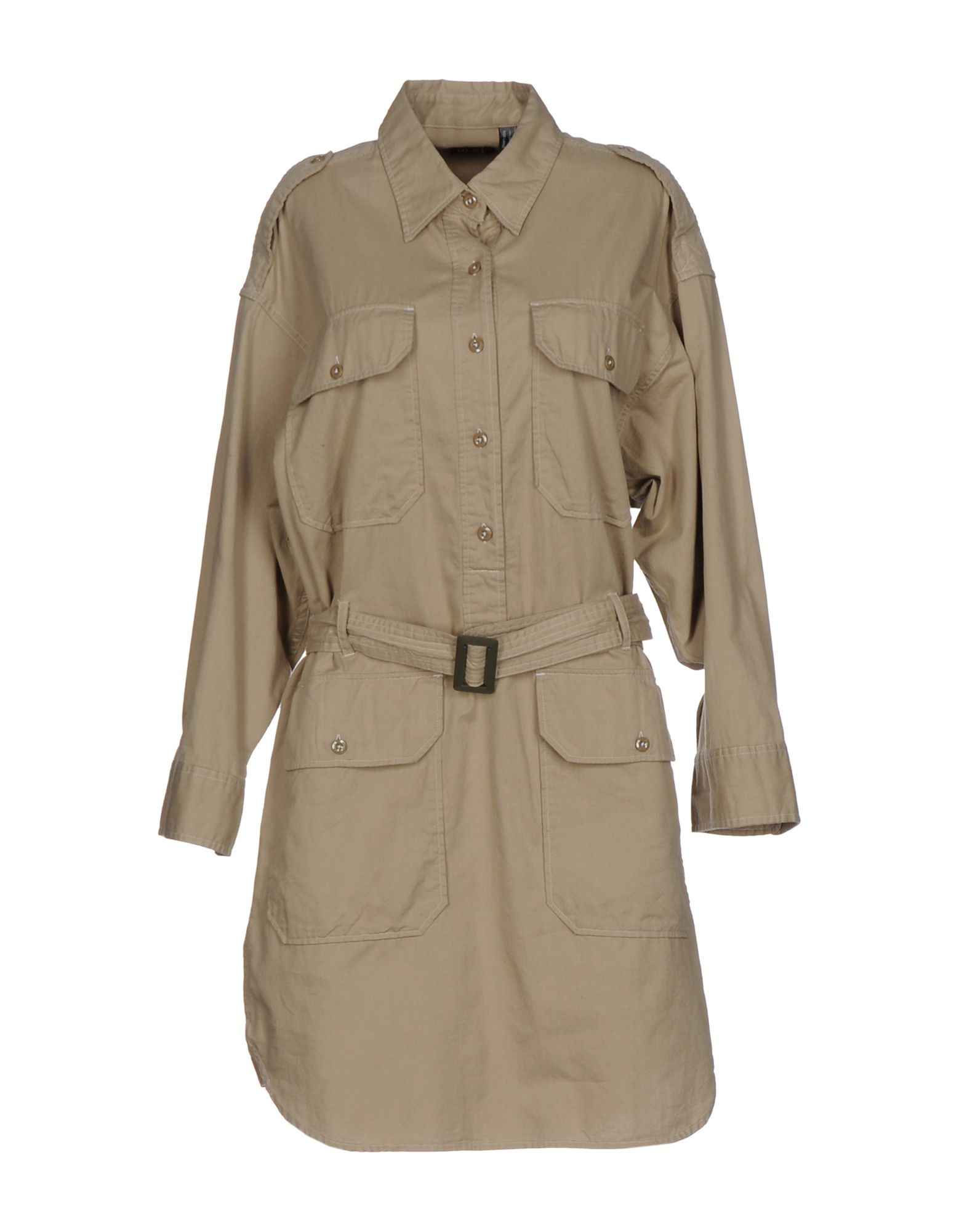 NLST ARMY Короткое платье nlst pубашка