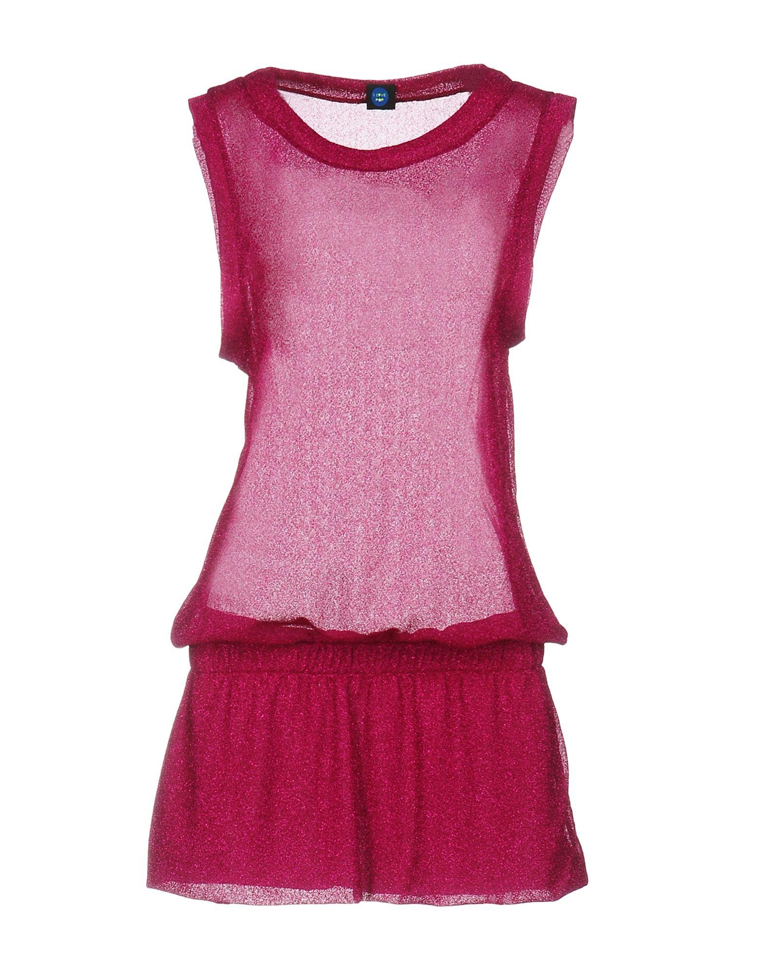 I LOVE POP Короткое платье iclebo pop