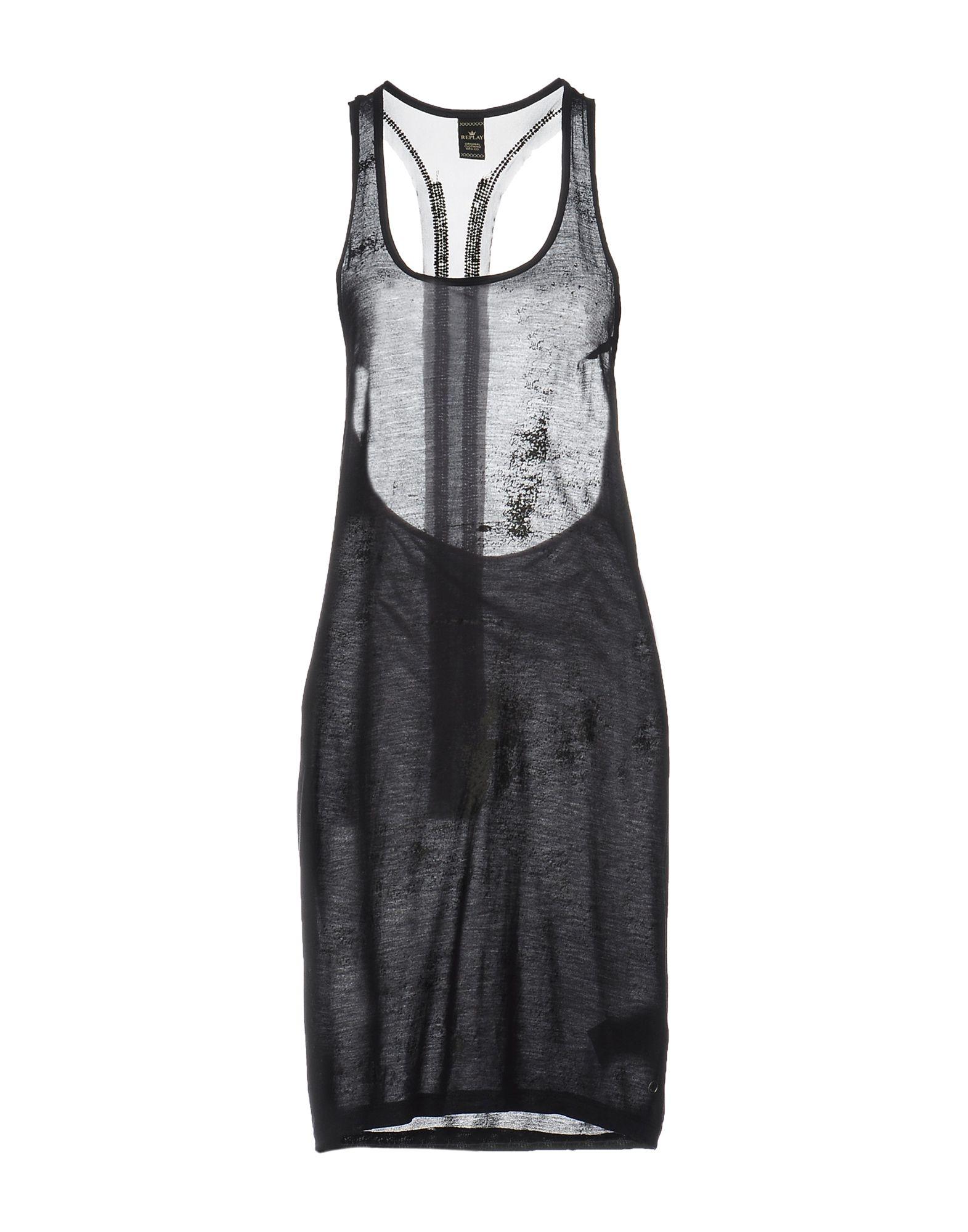 цены на REPLAY Платье до колена в интернет-магазинах