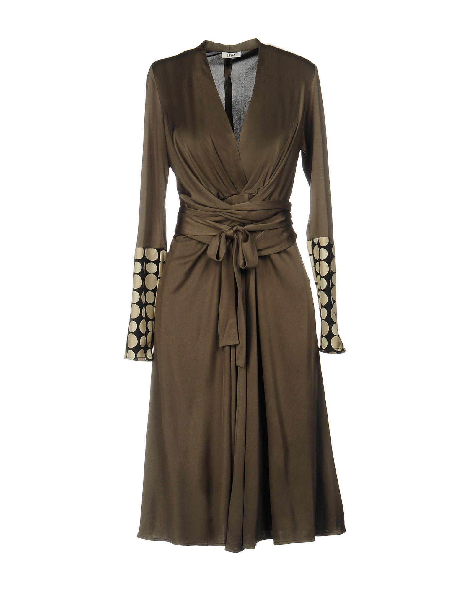 ISSA Платье до колена