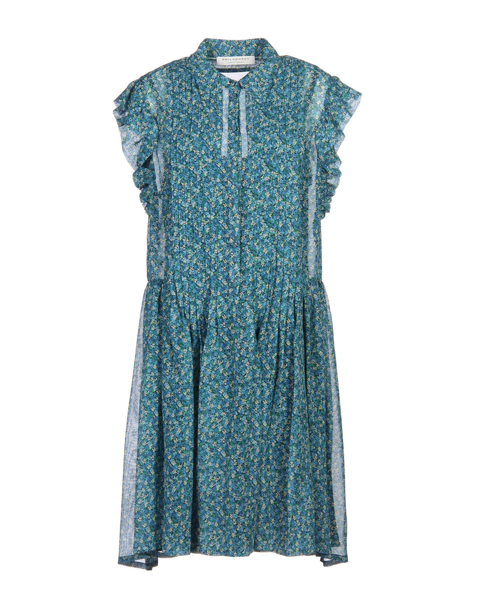 PHILOSOPHY di LORENZO SERAFINI Короткое платье album di famiglia короткое платье
