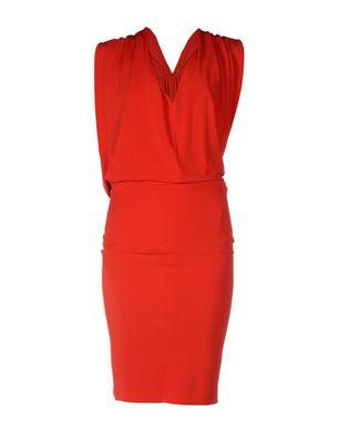 PLEIN SUD Damen Midikleid Farbe Rot Größe 3 Sale Angebote