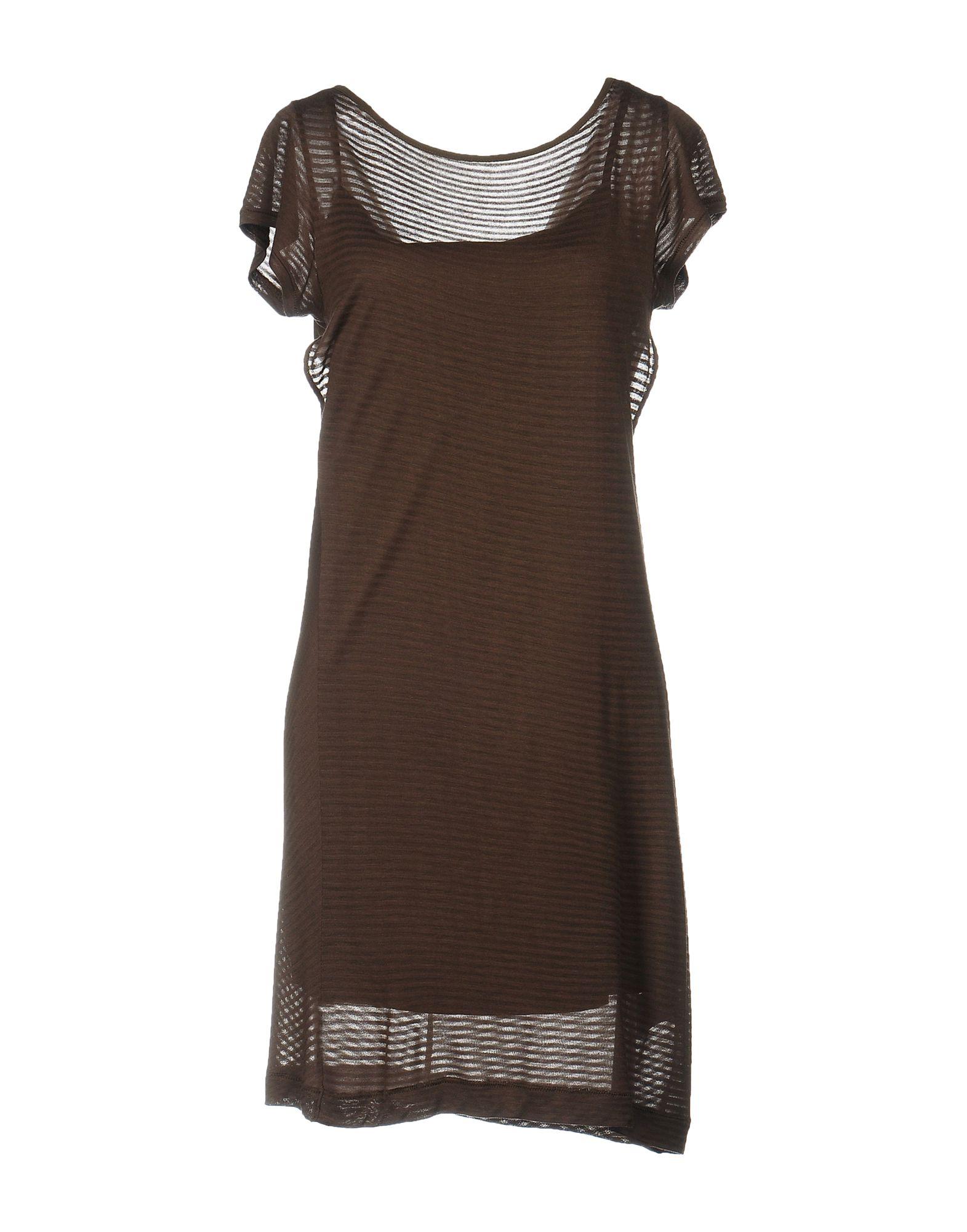 цена PINKO GREY Короткое платье онлайн в 2017 году