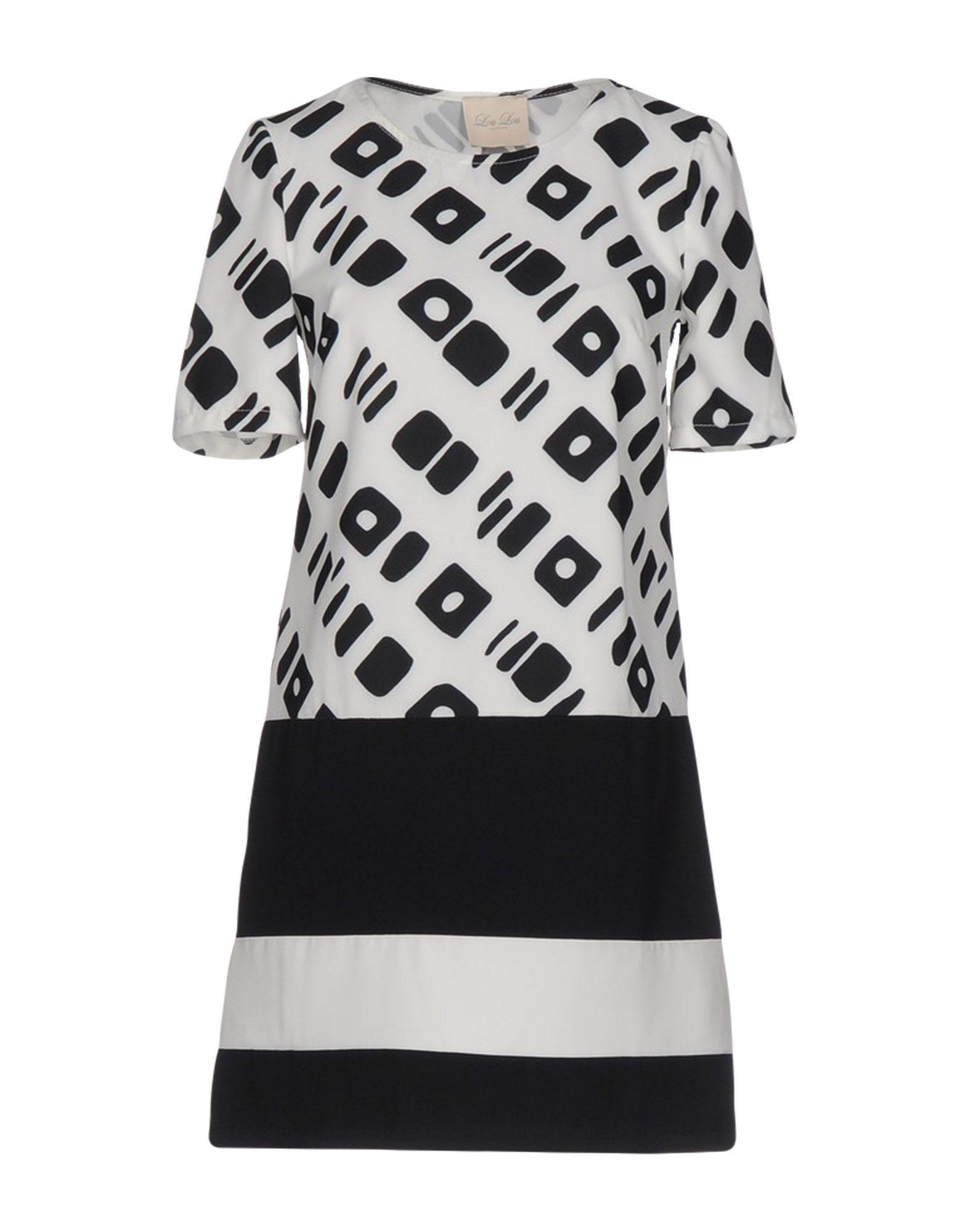 LOU LOU LONDON Короткое платье lou lou london блузка