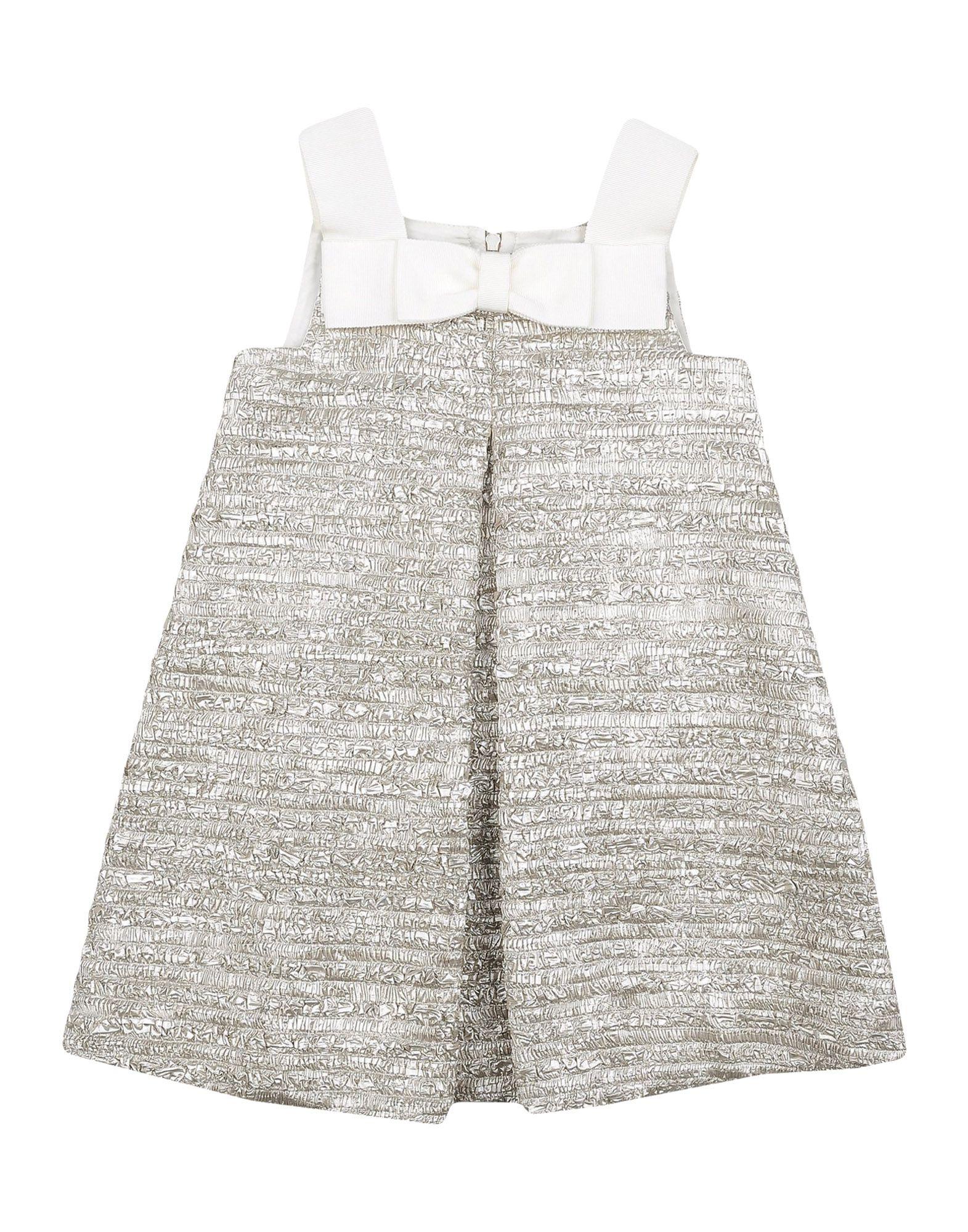 MIMISOL Mädchen 3-8 jahre Kleid Farbe Platin Größe 2