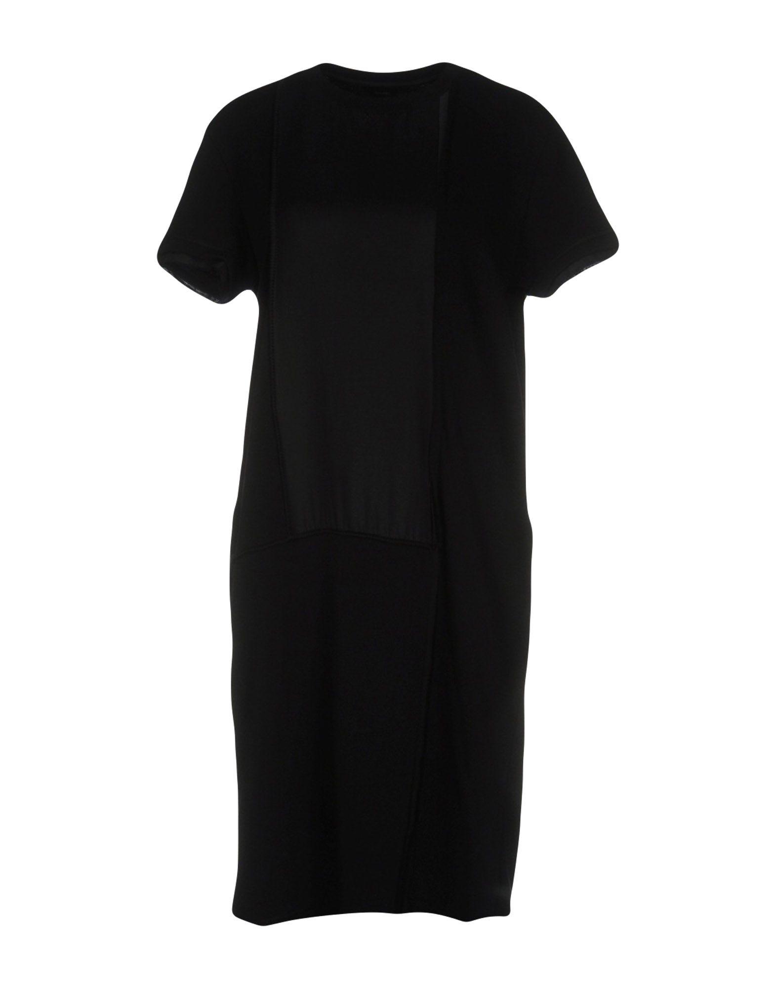 DIESEL Damen Kurzes Kleid Farbe Schwarz Größe 4