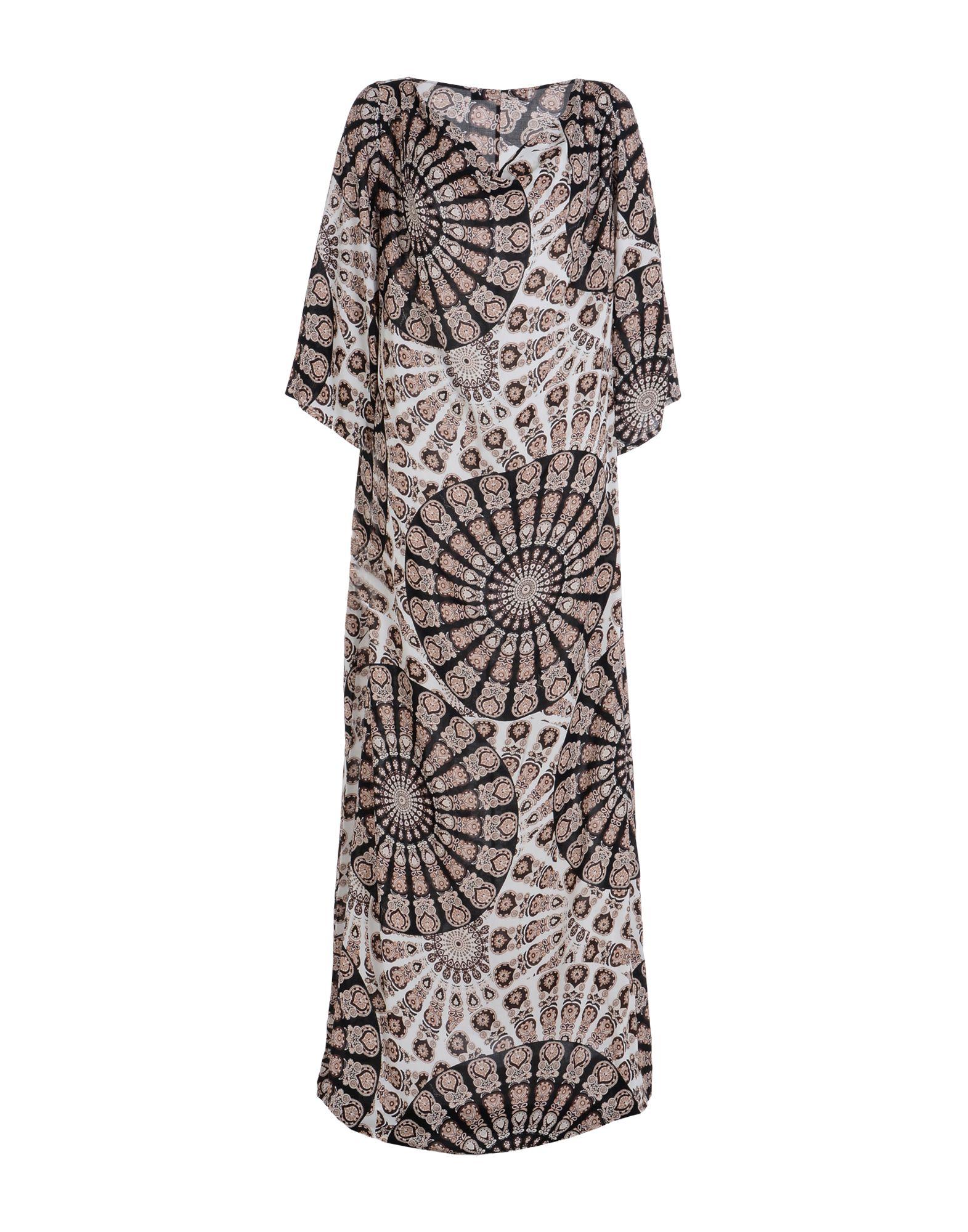 FISICO Длинное платье платье длинное с рисунком пейсли