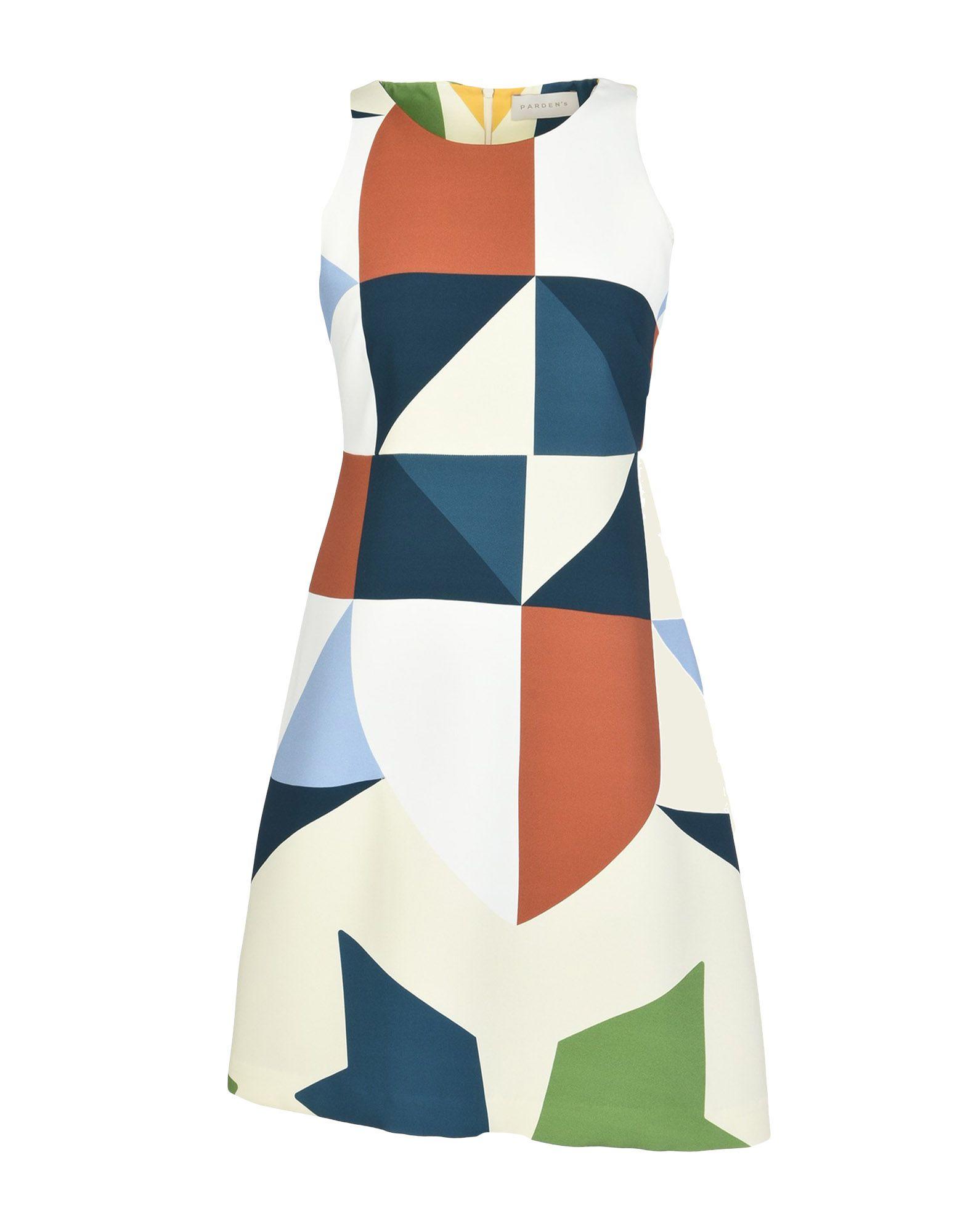 PARDEN'S Short Dress in Blue
