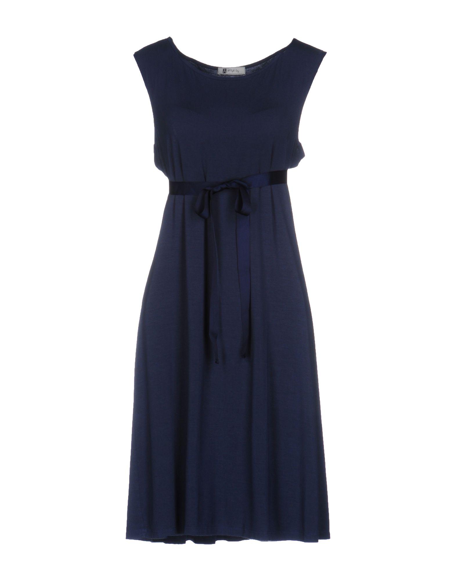 ANIYE BY Damen Kurzes Kleid Farbe Dunkelblau Größe 6