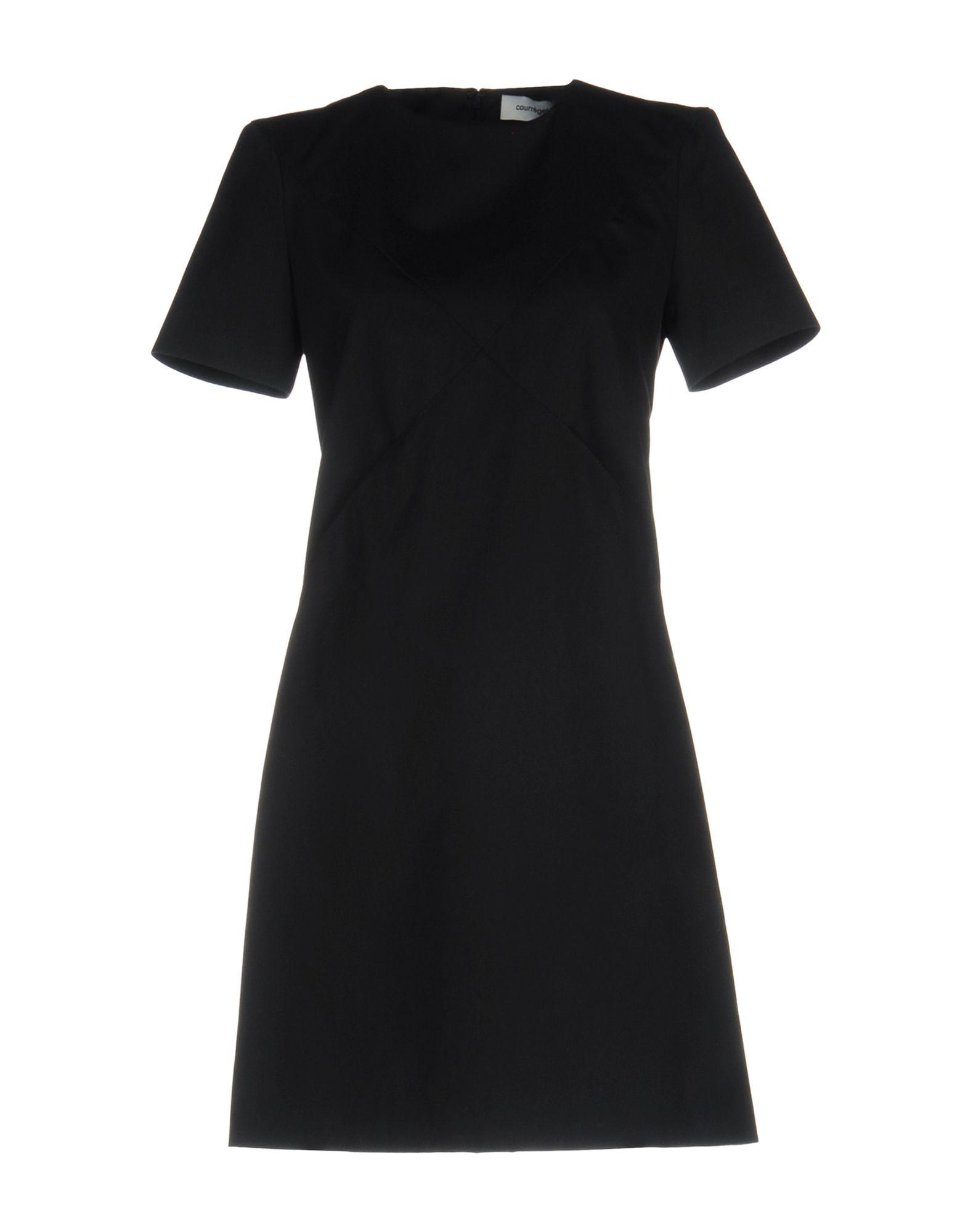 COURRÈGES Короткое платье courrèges пальто