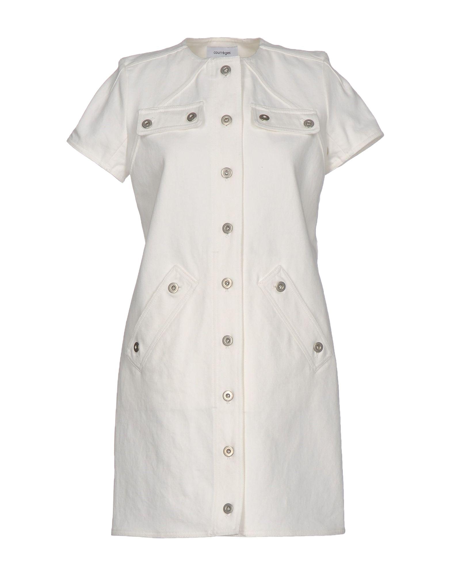 COURRÈGES Короткое платье courrèges короткое платье