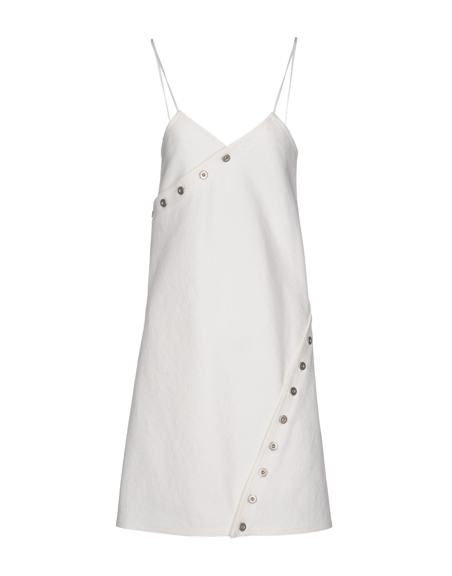COURRÈGES Платье до колена courrèges короткое платье