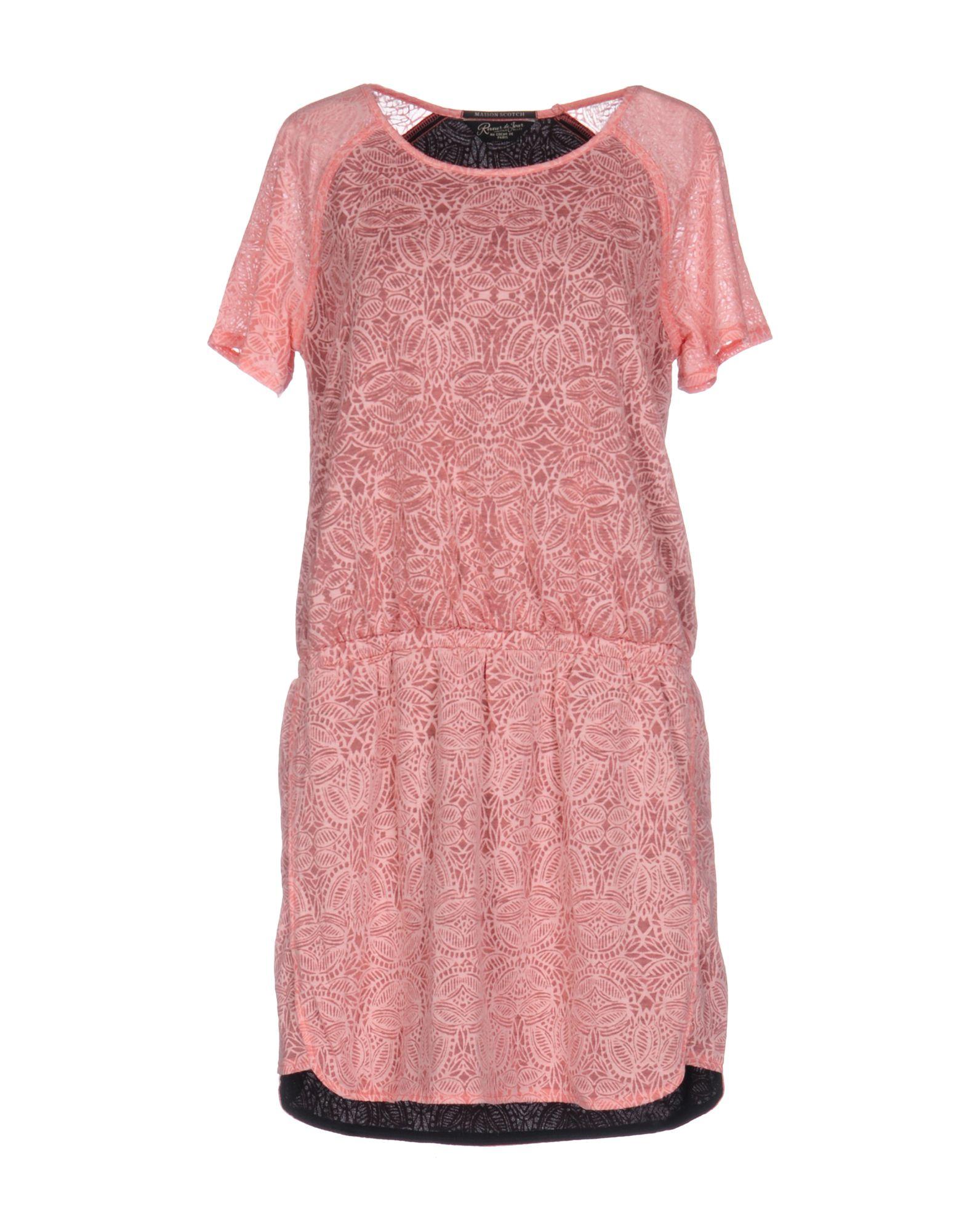 MAISON SCOTCH Короткое платье lisa corti короткое платье