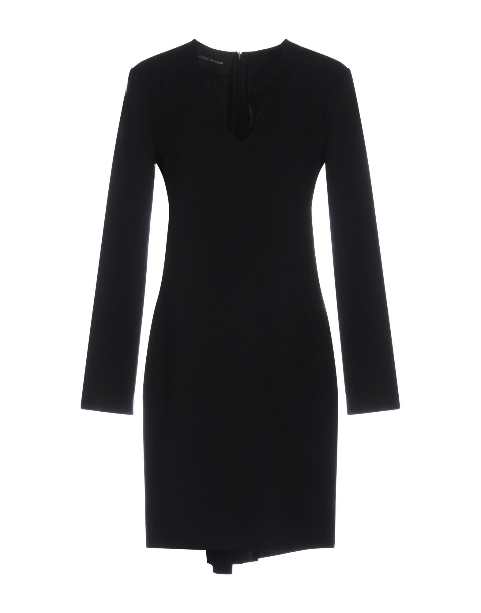 CEDRIC CHARLIER Короткое платье цена 2017