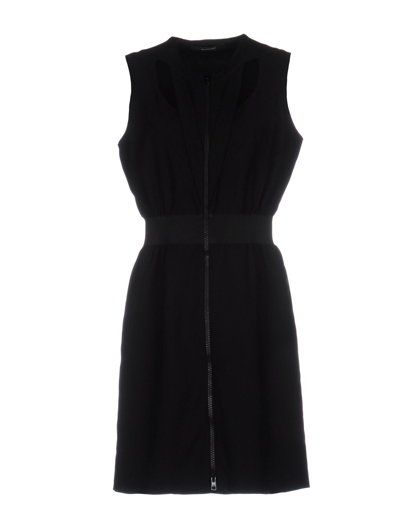 GIVENCHY Damen Kurzes Kleid Farbe Schwarz Größe 7