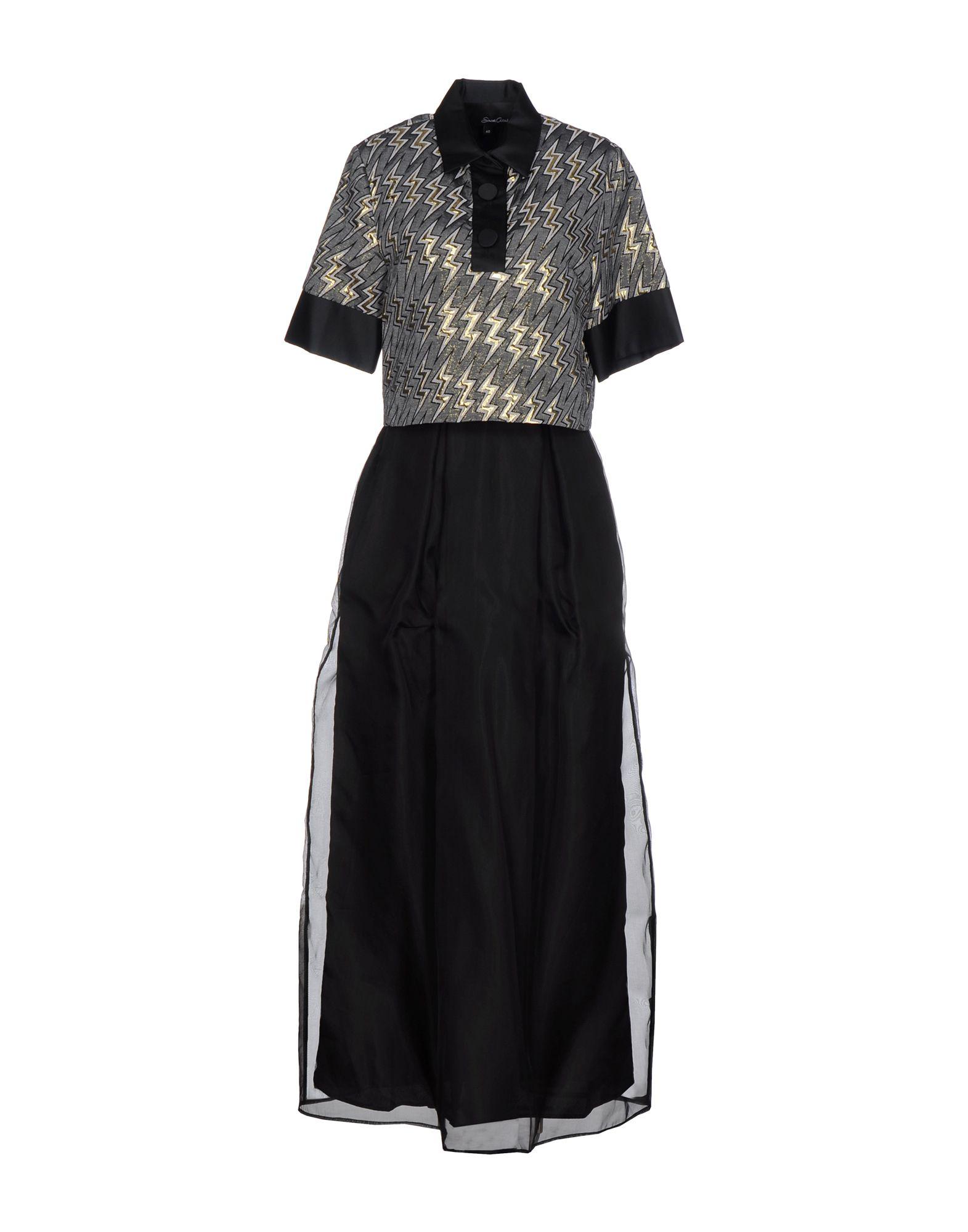 цены на SIMONA CORSELLINI Длинное платье в интернет-магазинах