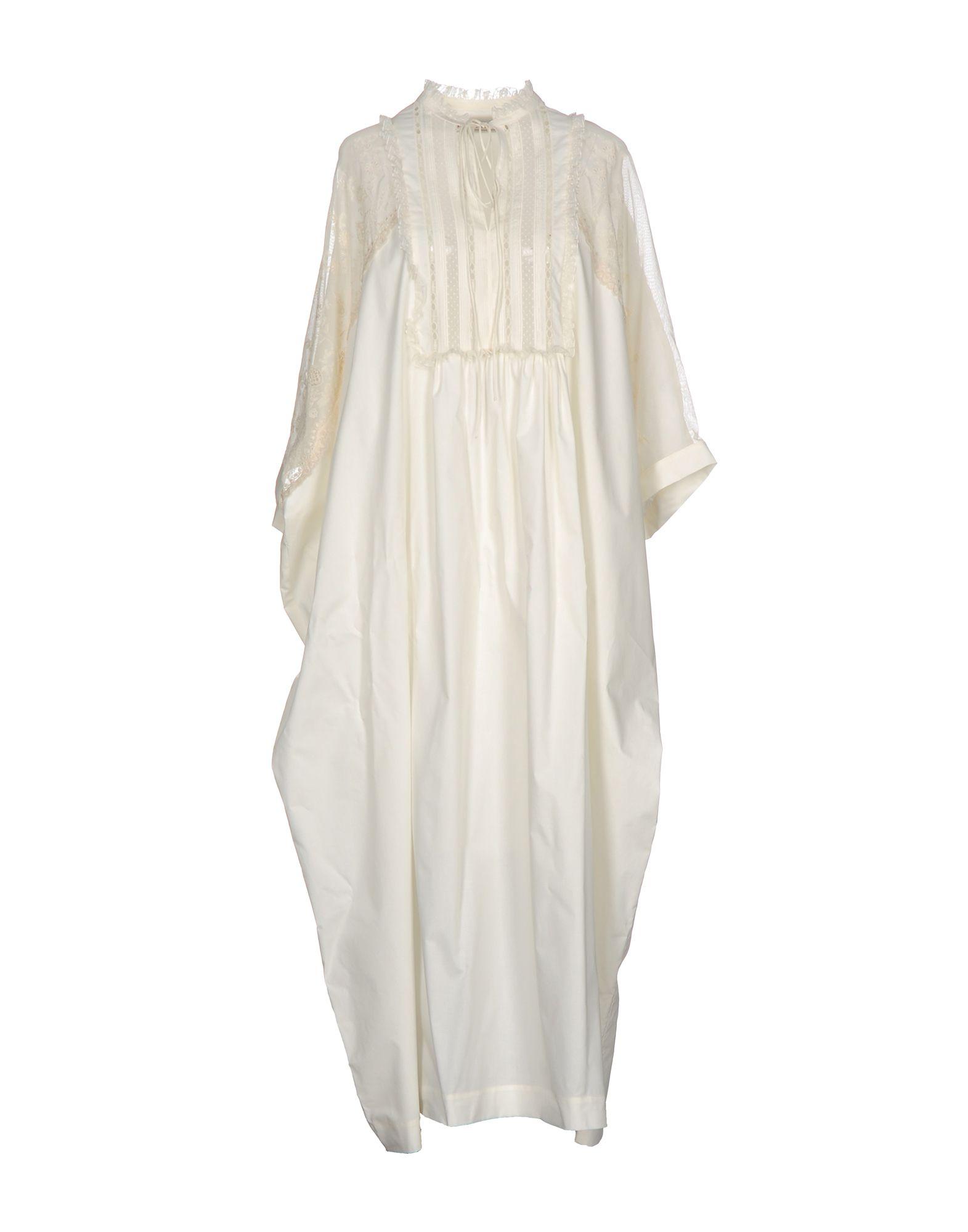 VERONIQUE BRANQUINHO Длинное платье veronique branquinho платье до колена