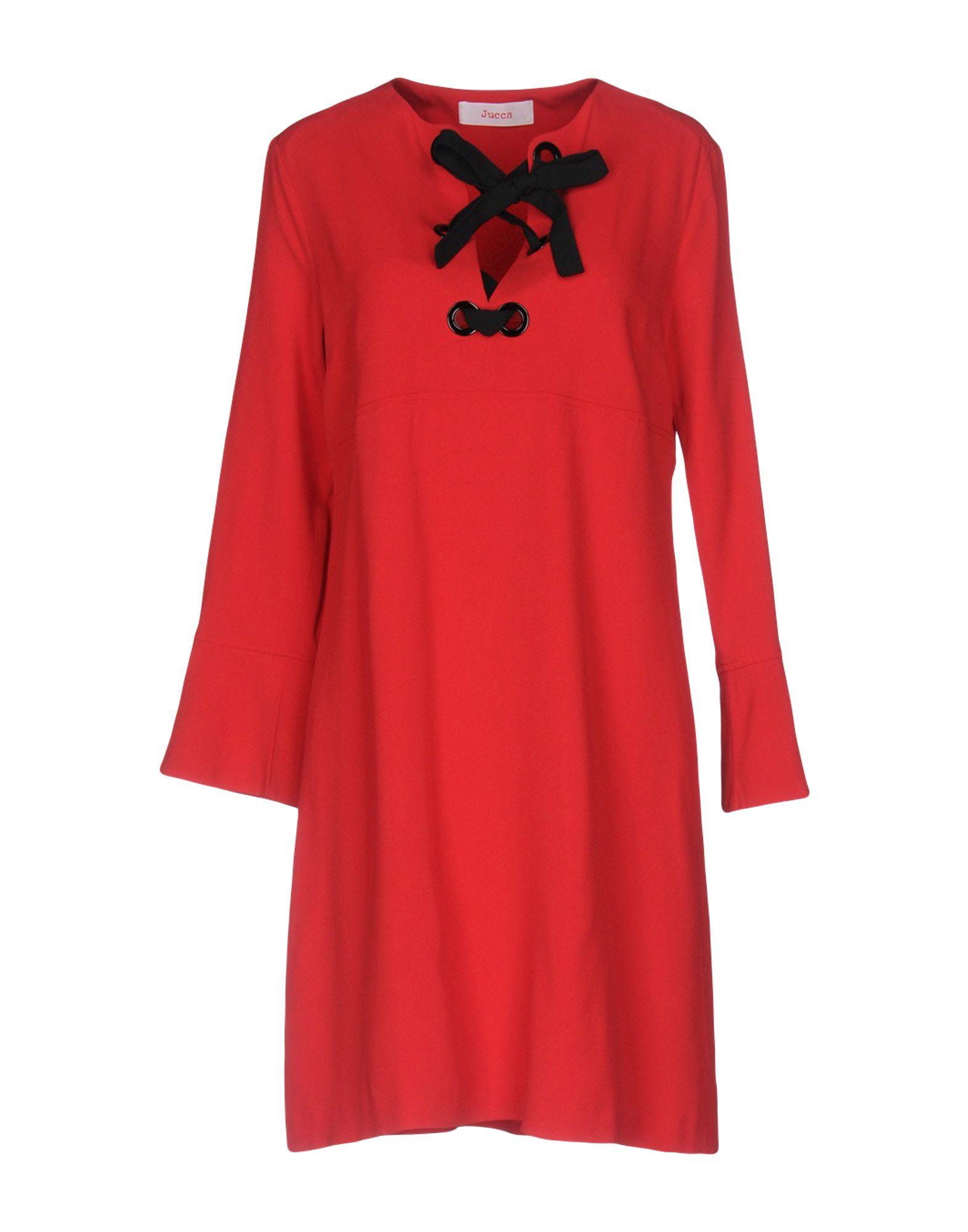 JUCCA Короткое платье 056816 sop16