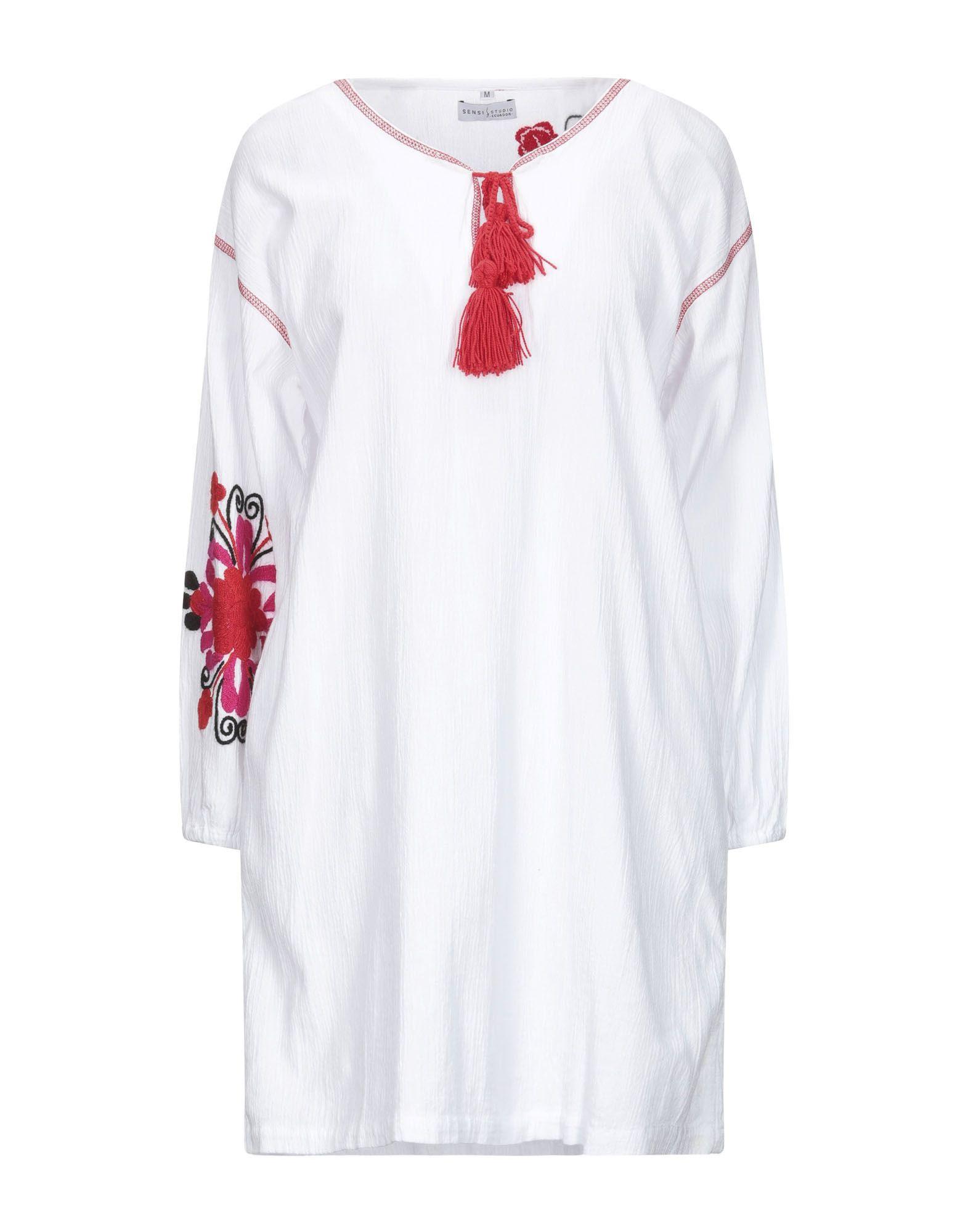 SENSI STUDIO Короткое платье цена и фото
