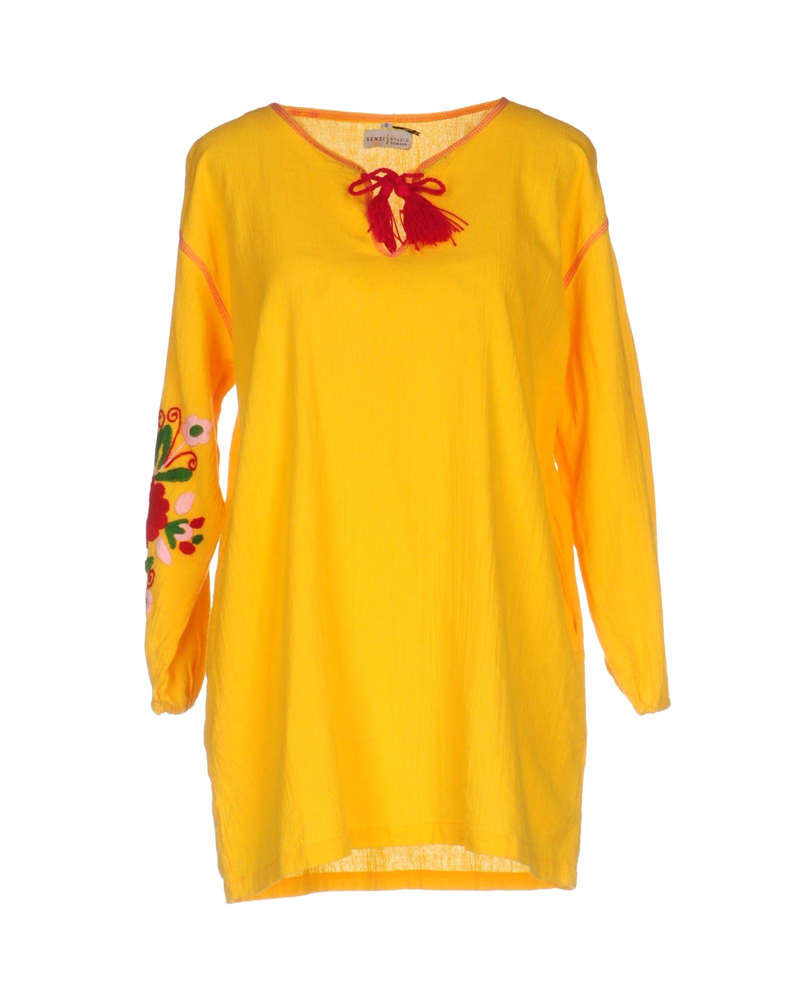 SENSI STUDIO Короткое платье sensi lupetto mc ma496m 1