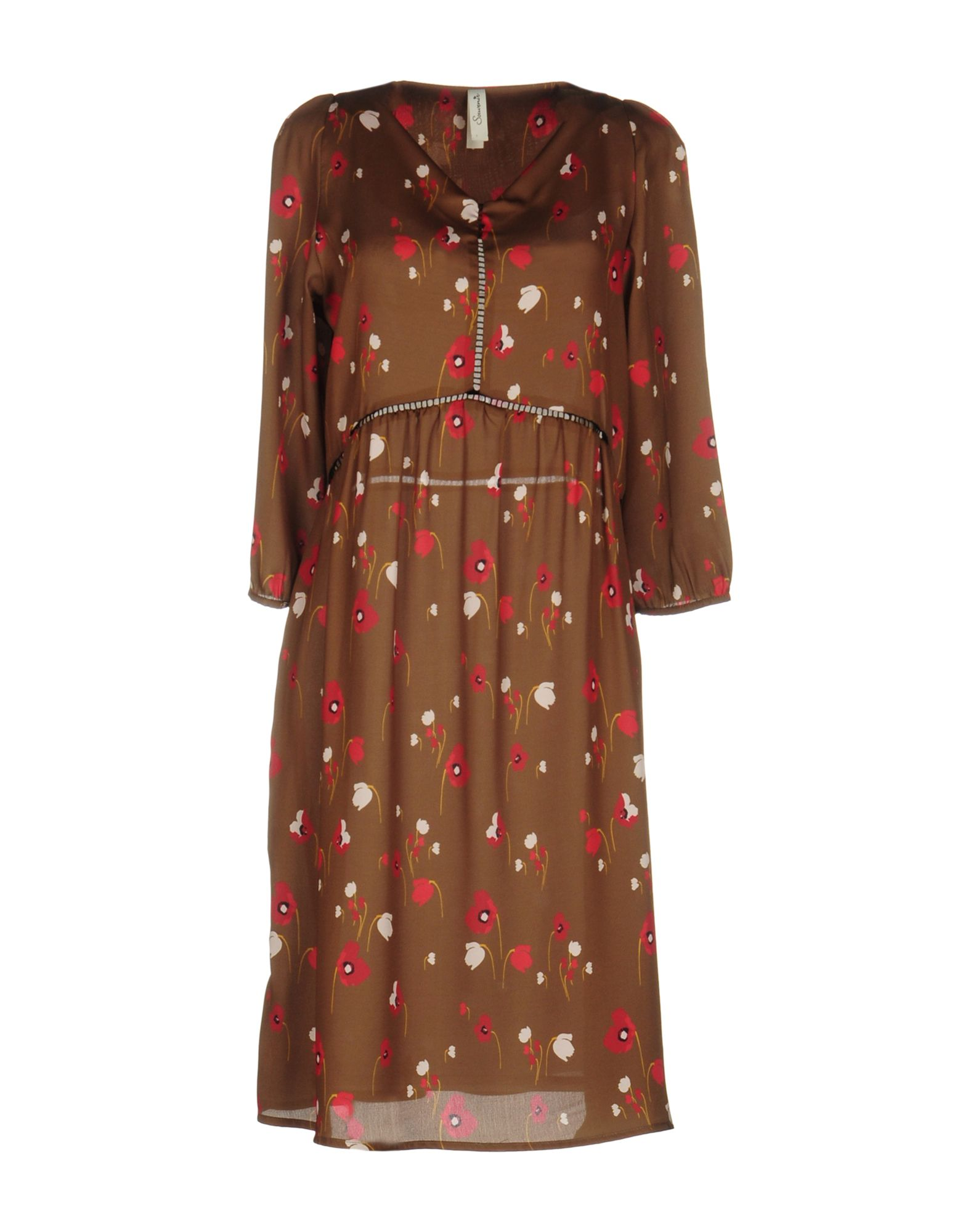 SOUVENIR Платье до колена souvenir платье длиной 3 4