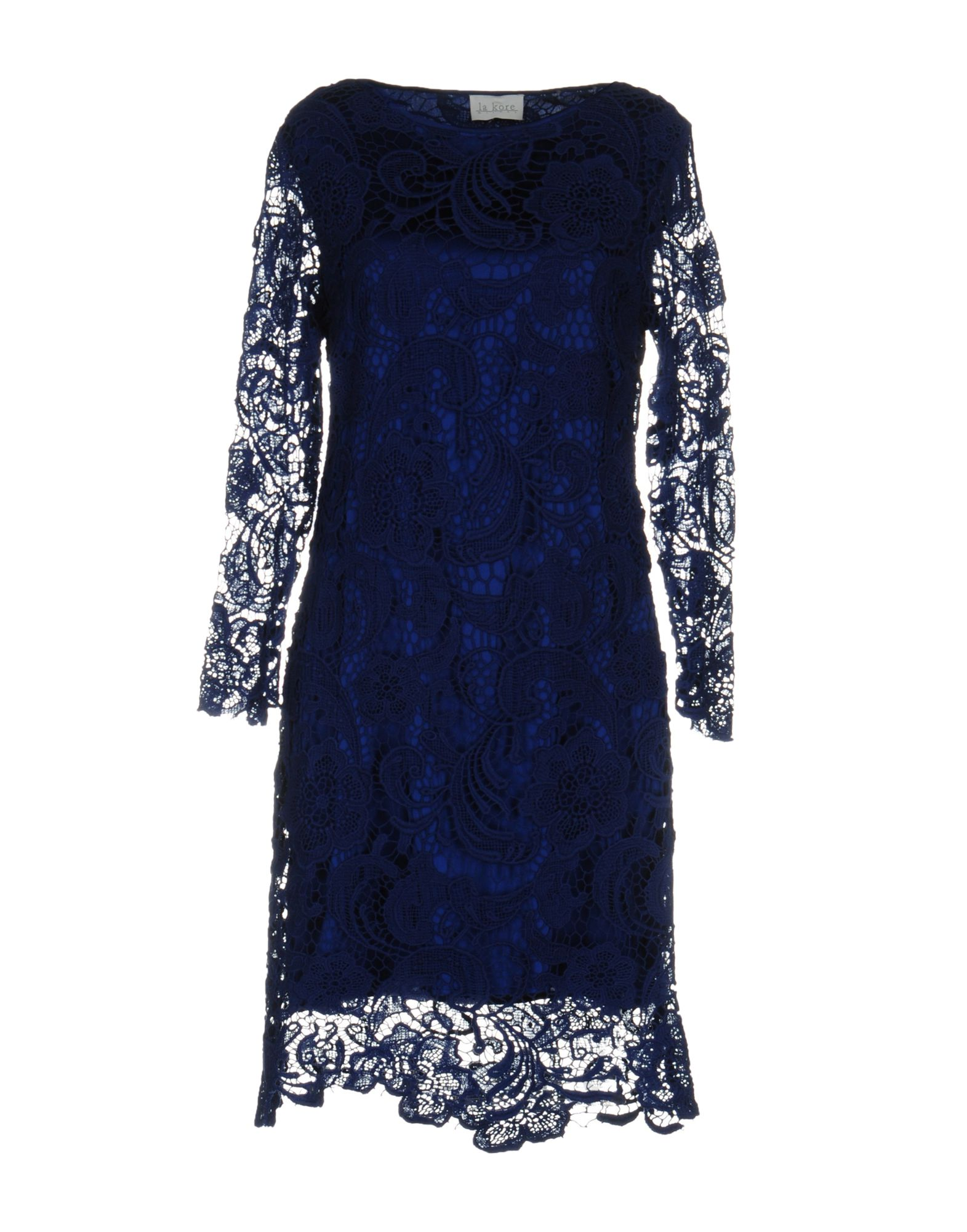 цена LA KORE Короткое платье онлайн в 2017 году
